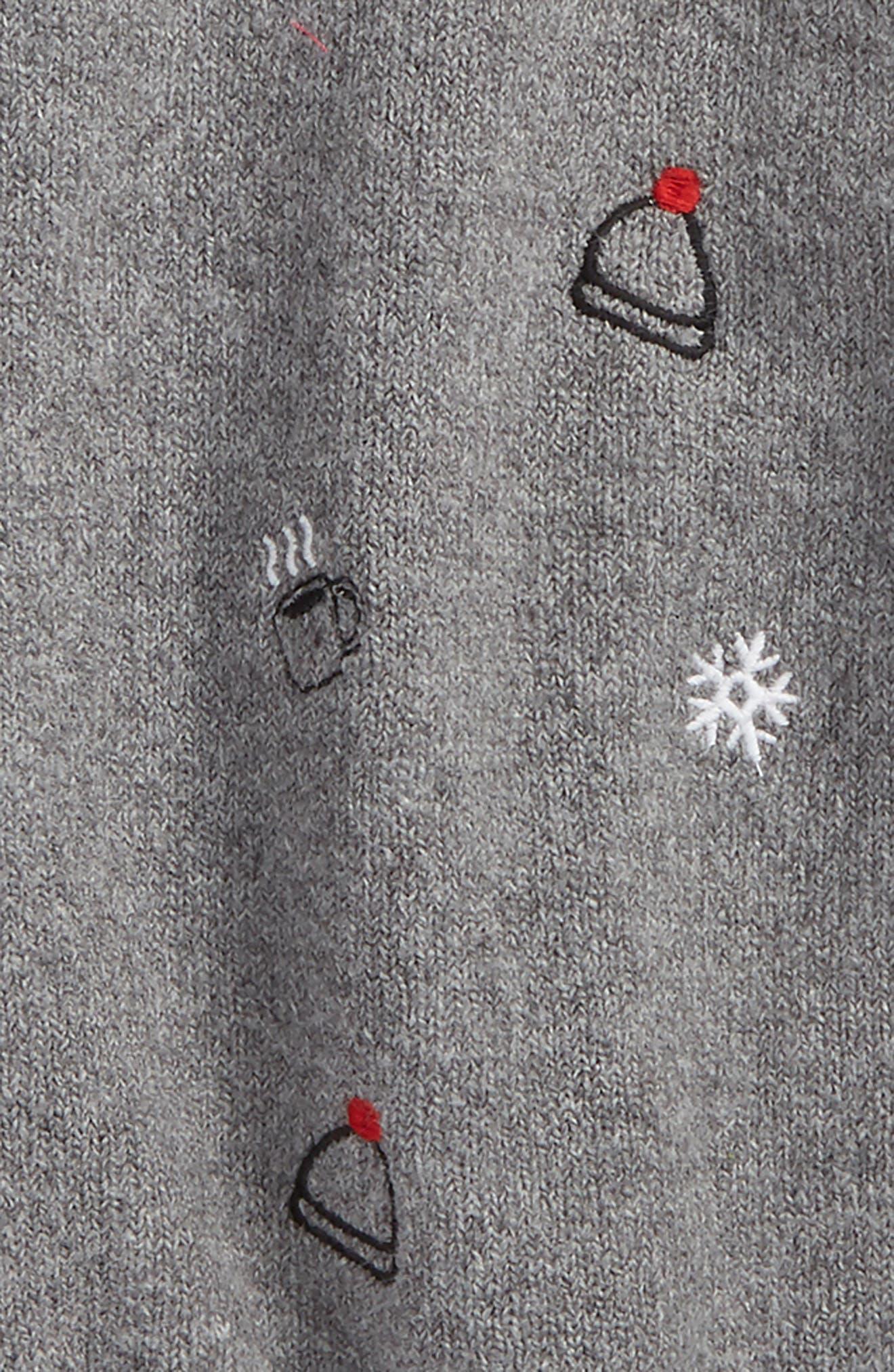 Alternate Image 2  - Tucker + Tate Embroidered Sweater (Toddler Girls, Little Girls & Big Girls)