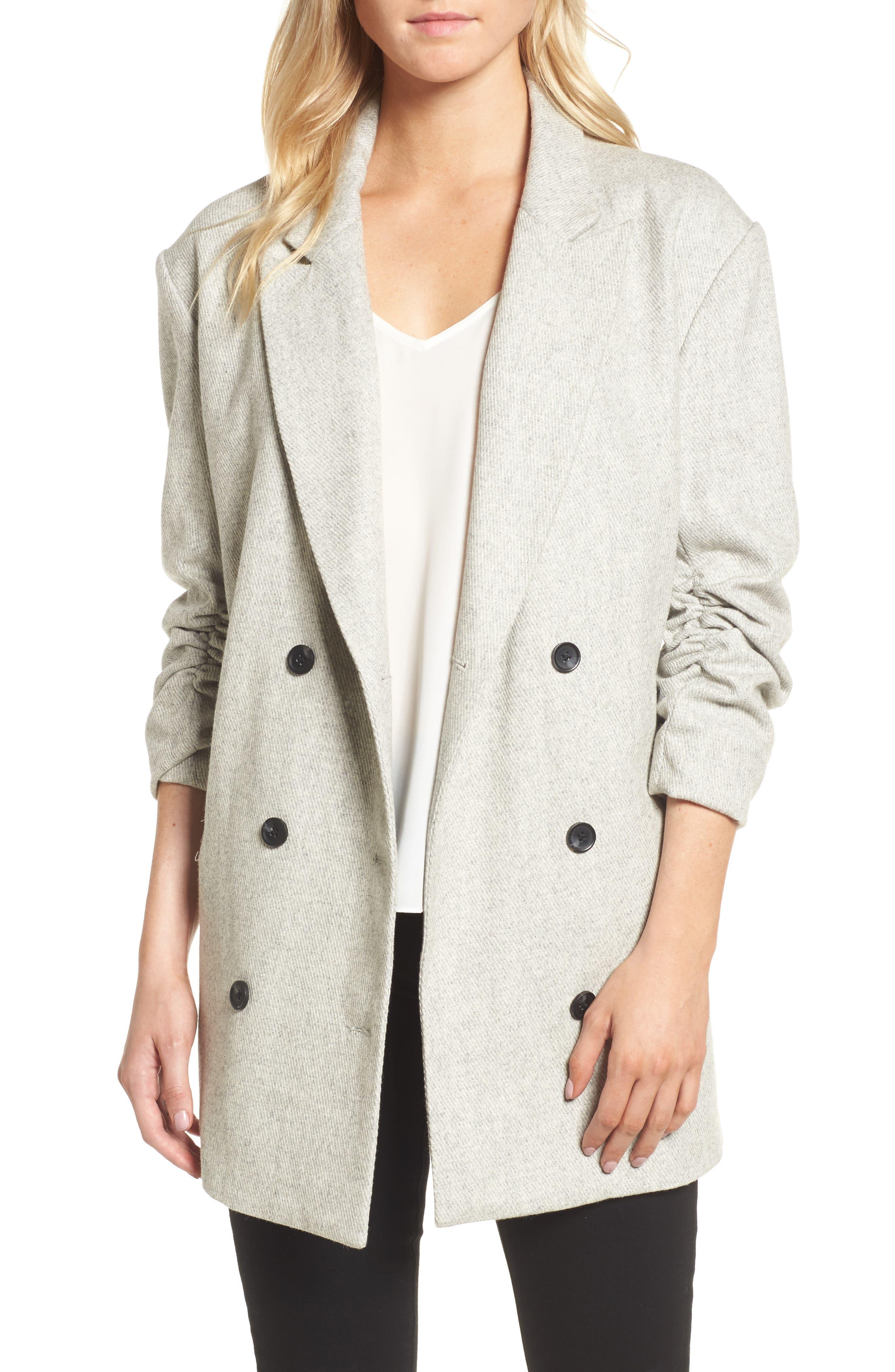 Bon Jacket,                             Main thumbnail 1, color,                             Grey
