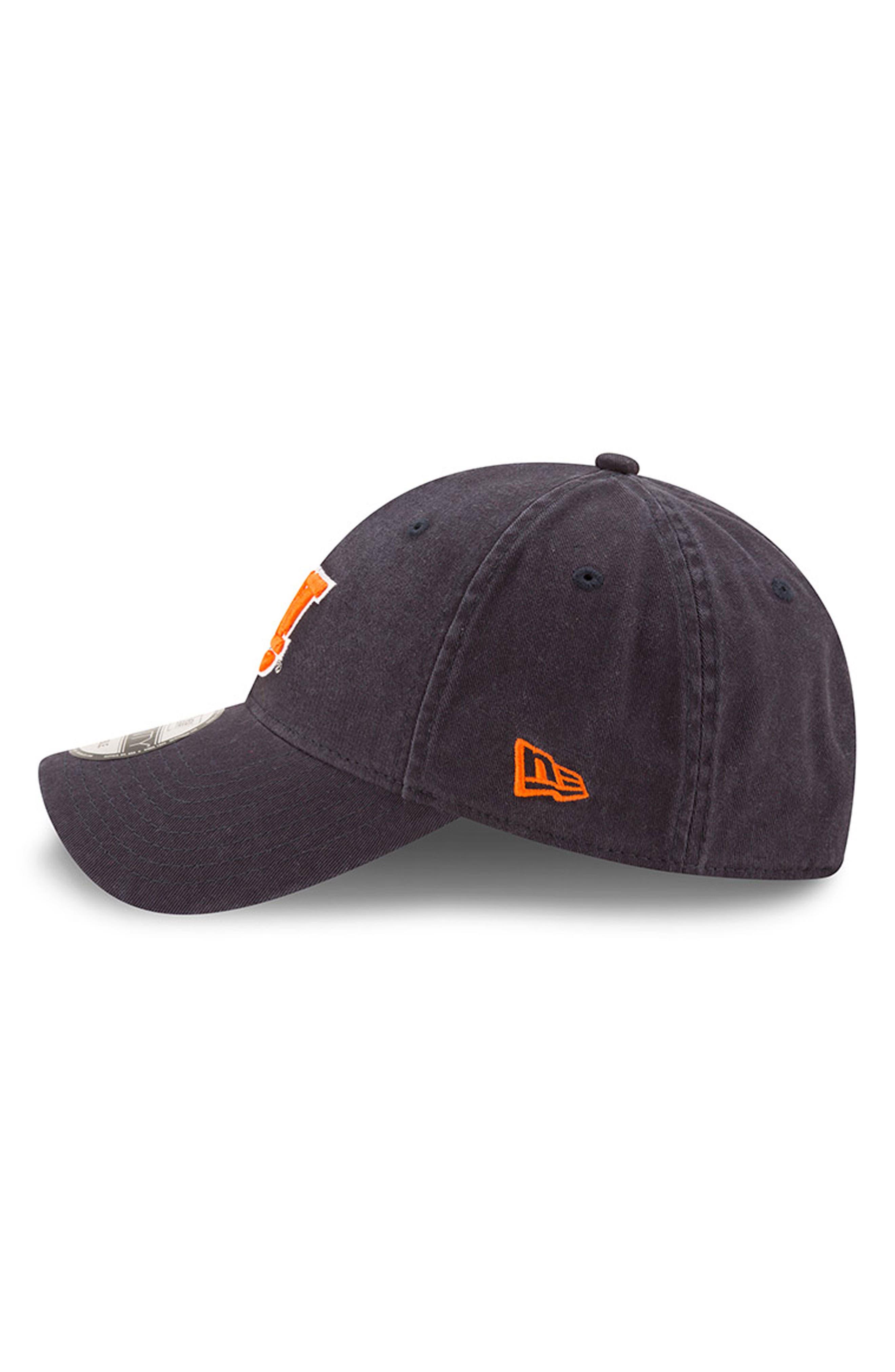 New Era Collegiate Core Classic - Auburn Tigers Baseball Cap,                             Alternate thumbnail 4, color,                             Auburn Tigers