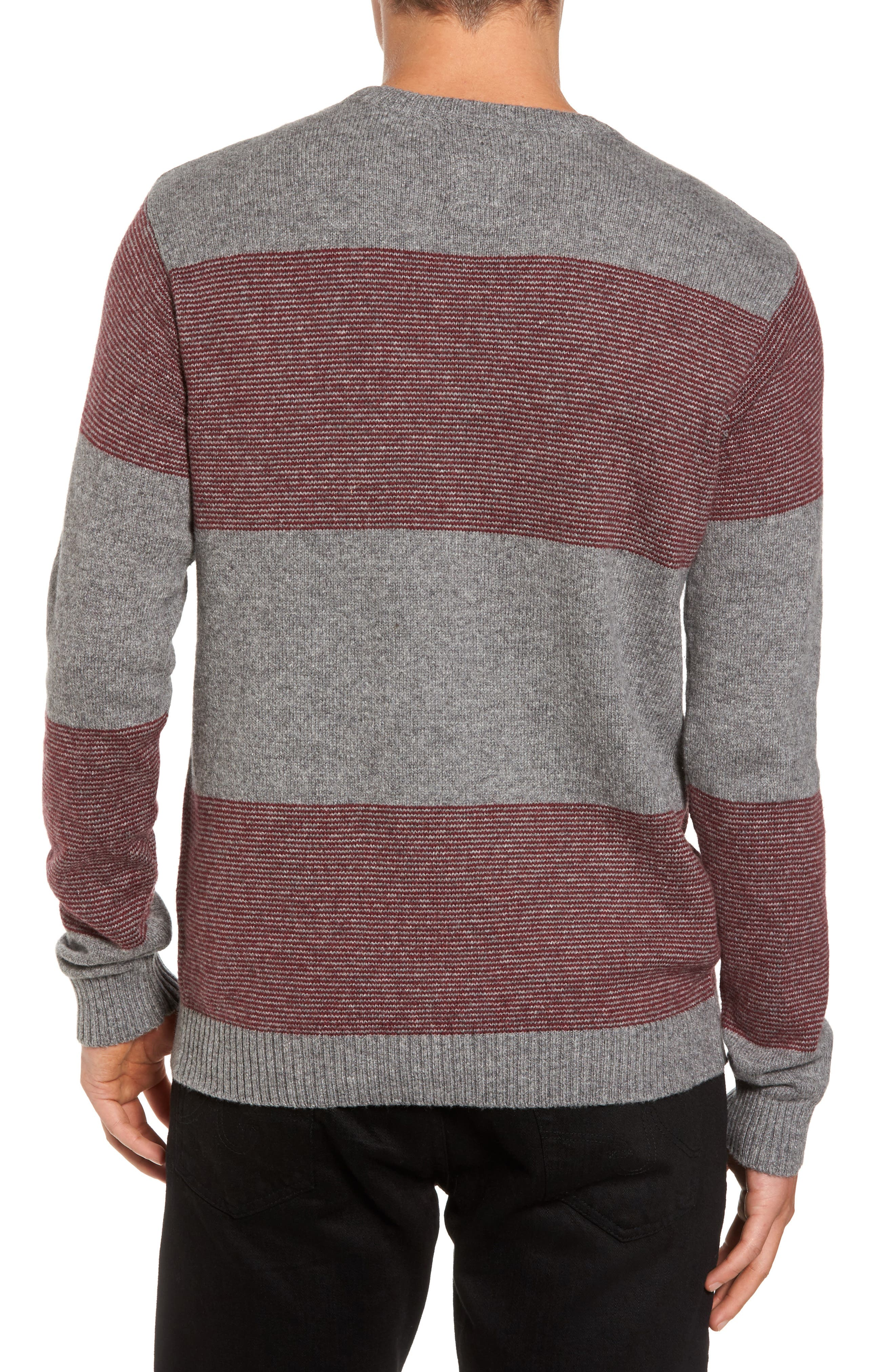 Alternate Image 2  - RVCA Channels Crewneck Sweater