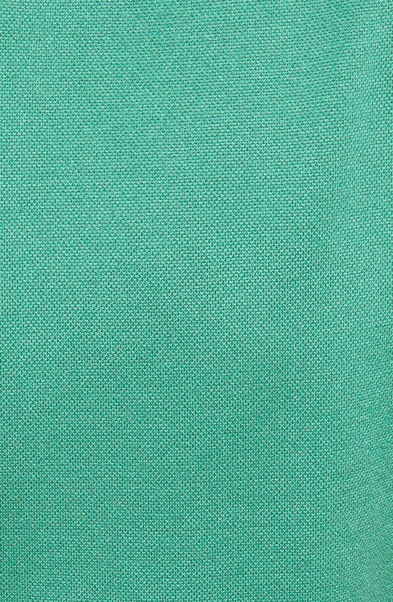 Corset Back Cutout Dress,                             Alternate thumbnail 5, color,                             Green