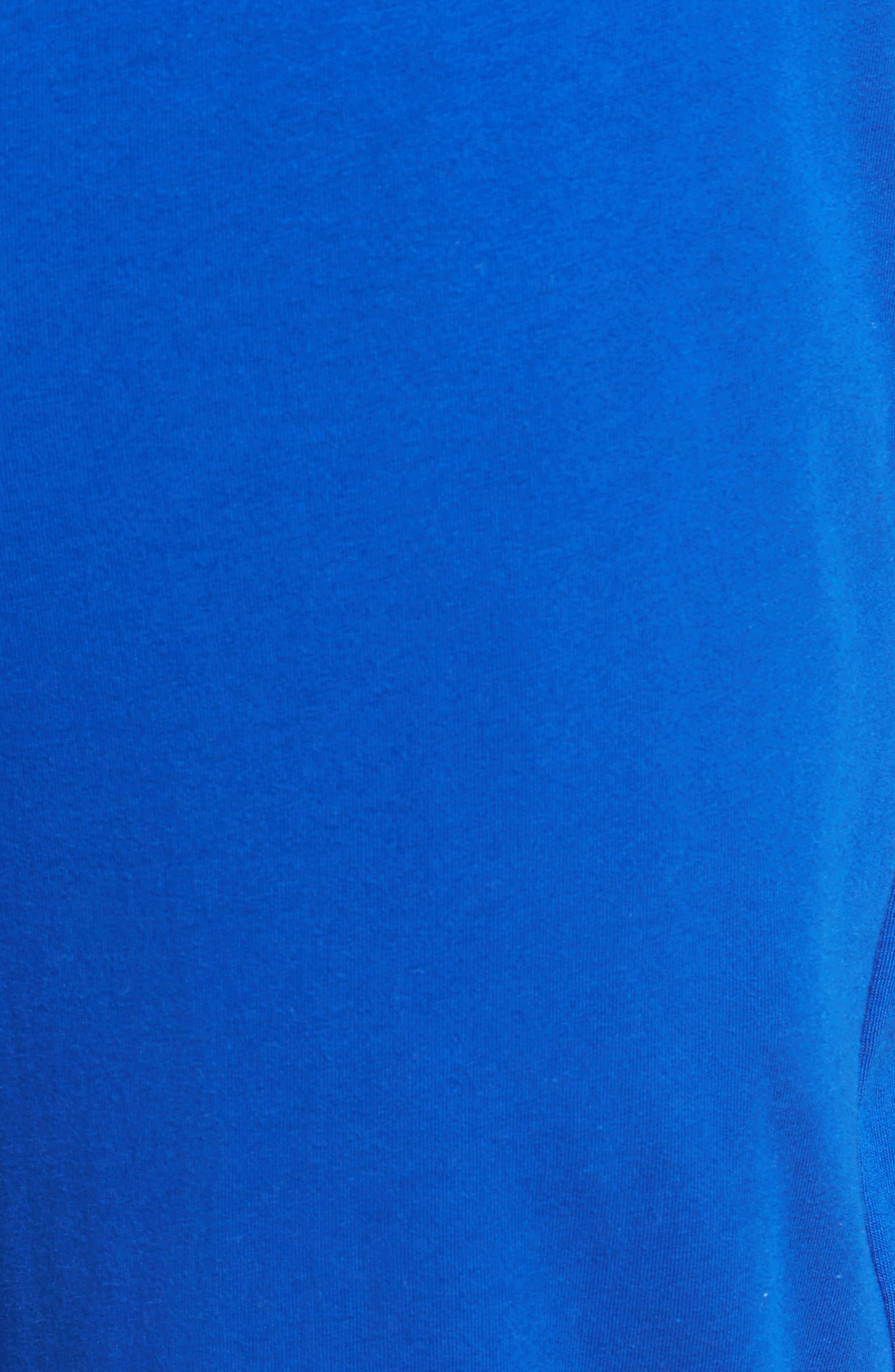 Polo Ralph Lauren Cotton Lounge Pants,                             Alternate thumbnail 5, color,                             Sapphire Star/ Crescent Cream