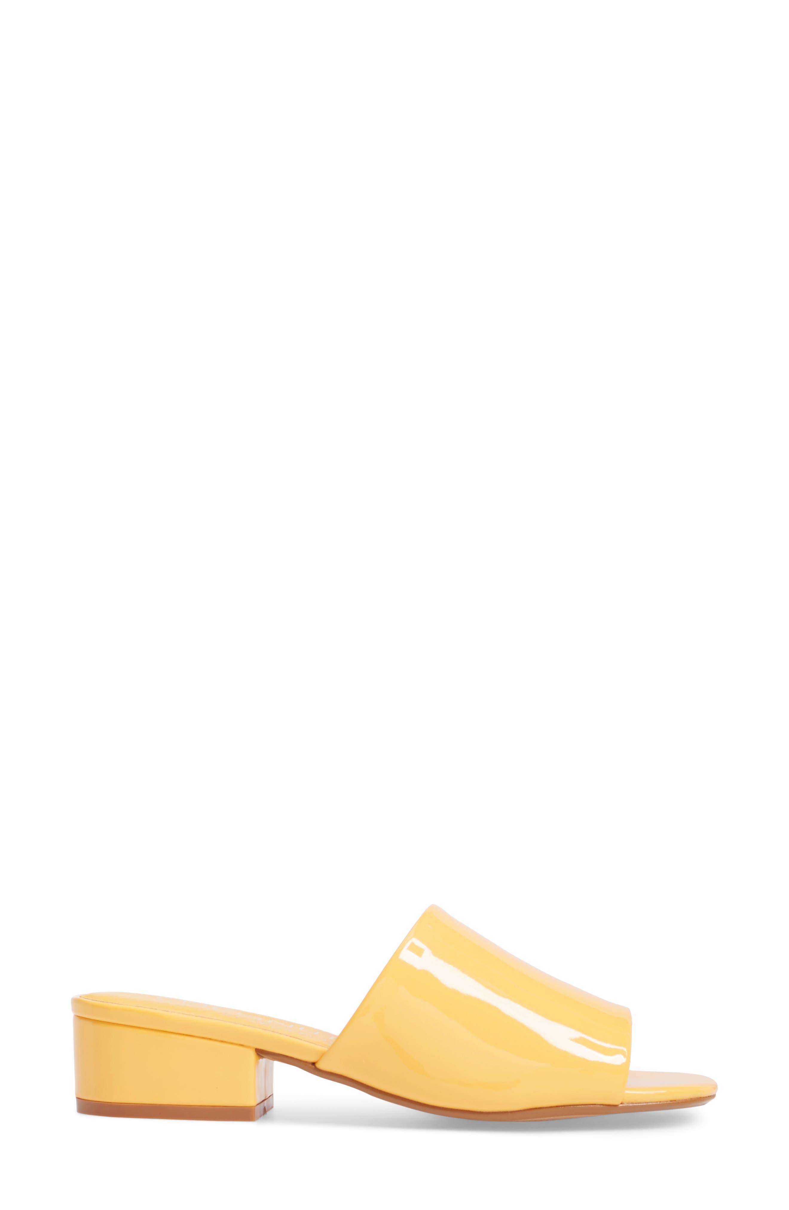 Plantain Slide Sandal,                             Alternate thumbnail 3, color,                             Mango
