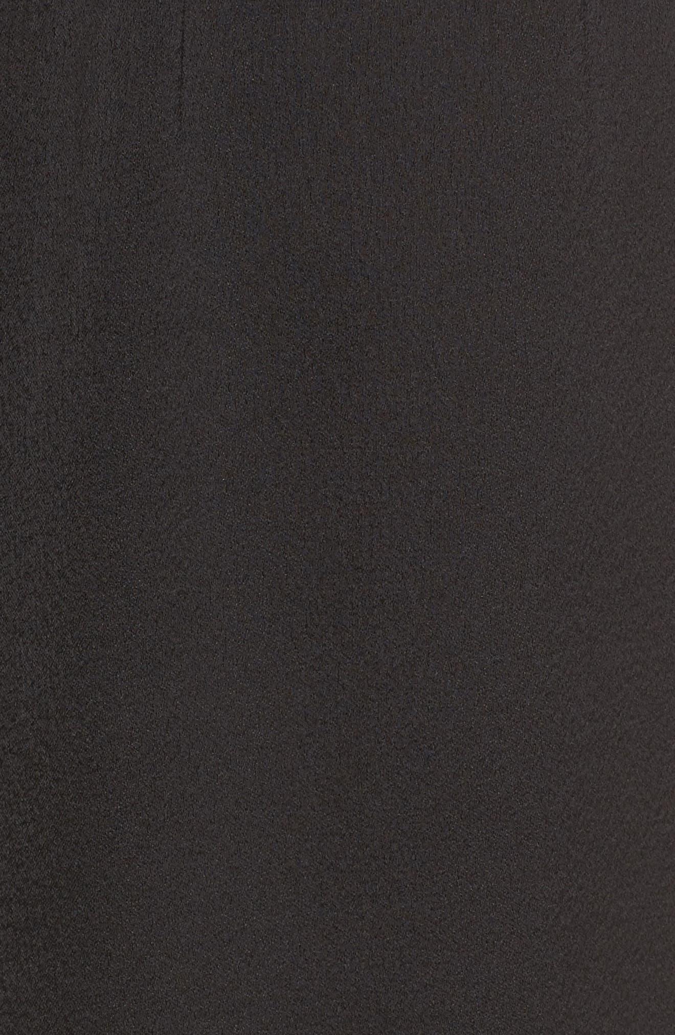 Alternate Image 5  - devlin Melanie Strapless Jumpsuit