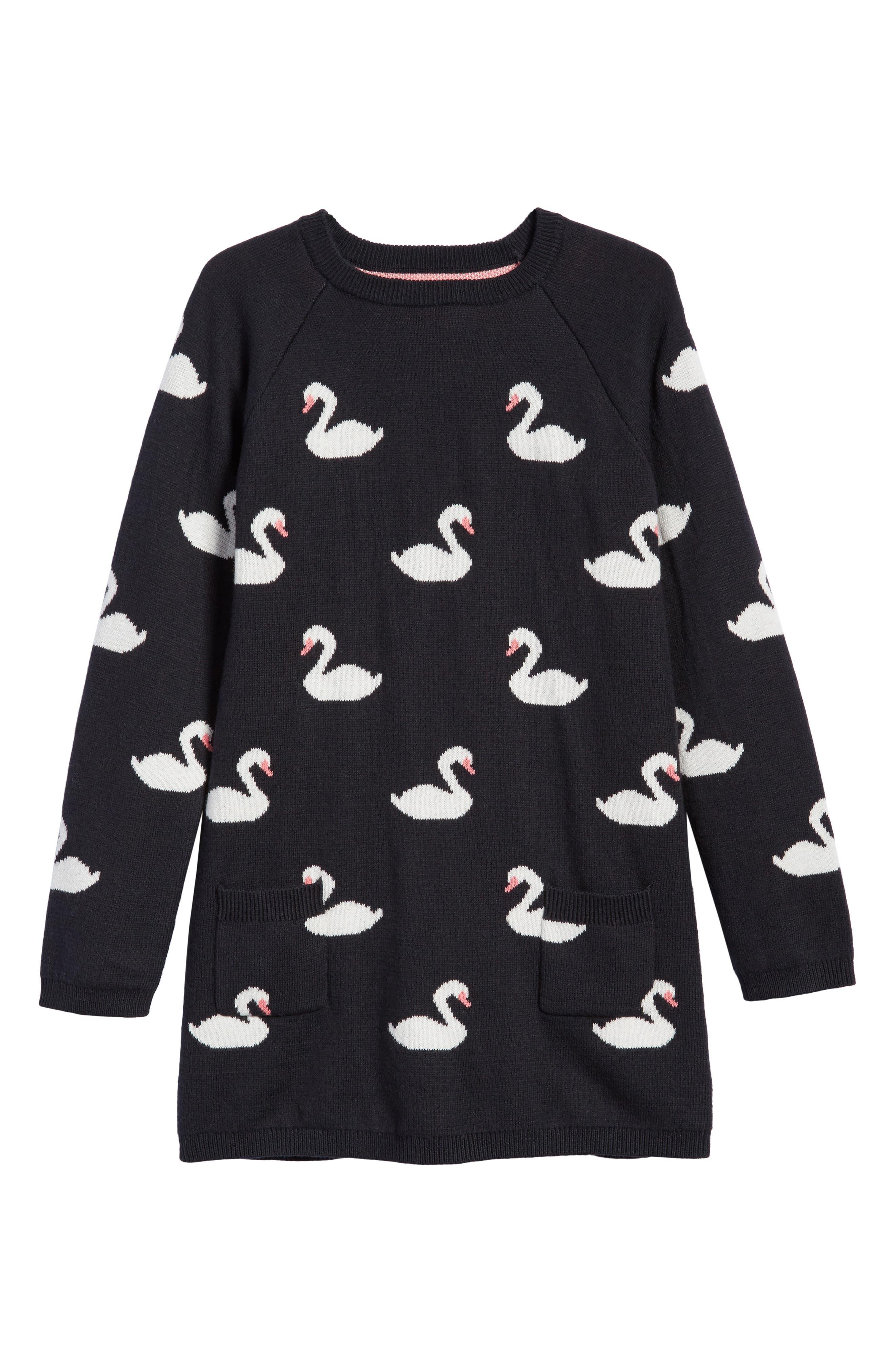 Tucker + Tate Cotton & Cashmere Dress (Toddler Girls, Little Girls & Big Girls)