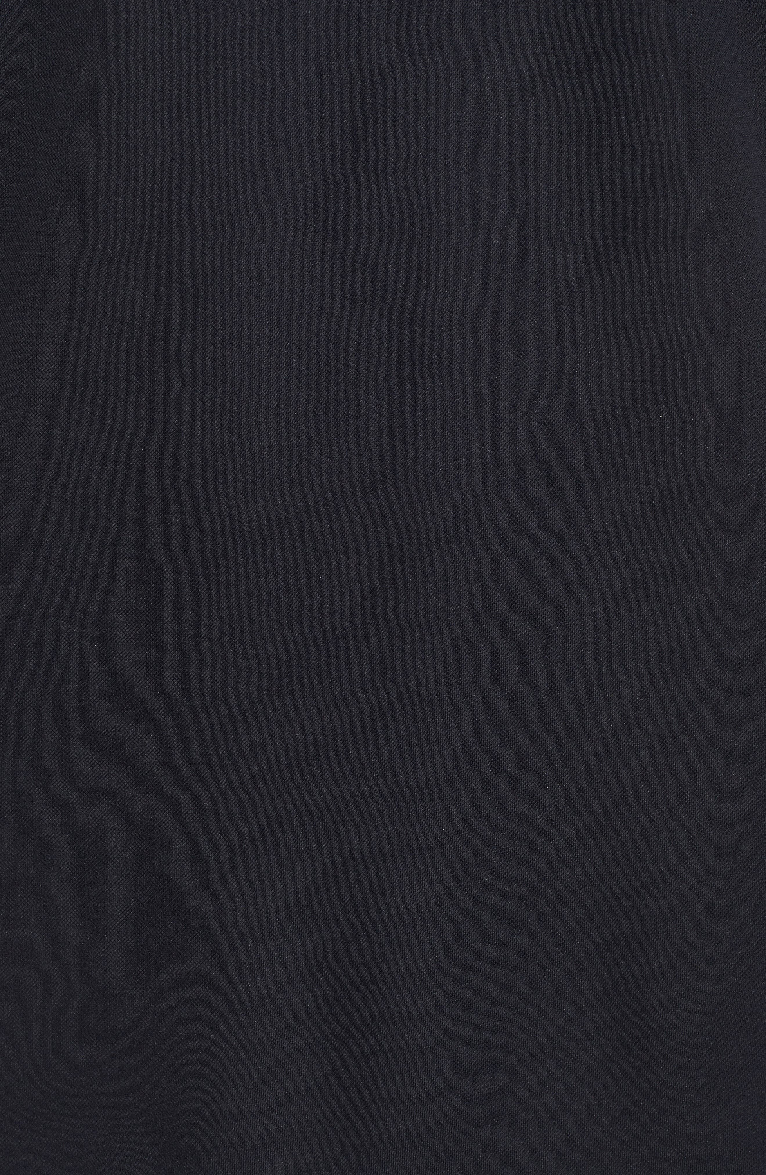 Frisch Chest Stripe Polo,                             Alternate thumbnail 5, color,                             Black