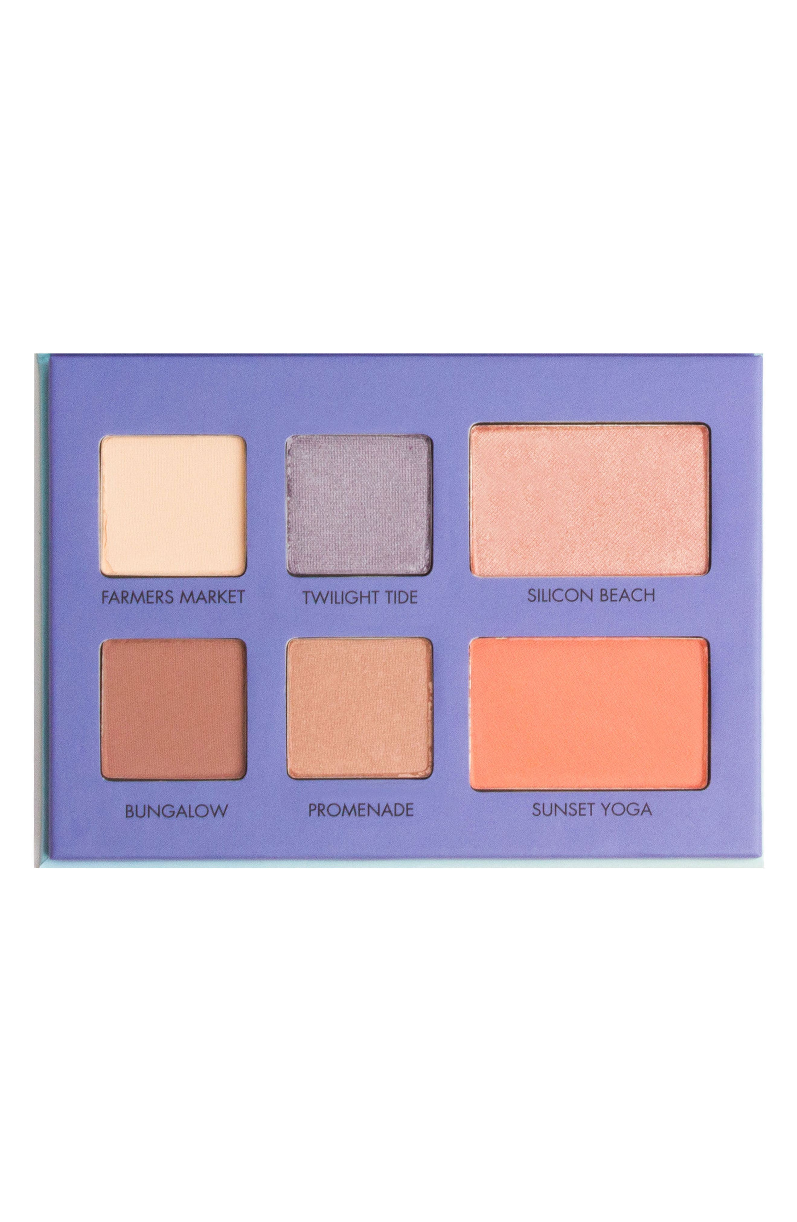 Alternate Image 1 Selected - LORAC L.A. Experience Santa Monica Eye & Cheek Palette (Limited Edition)