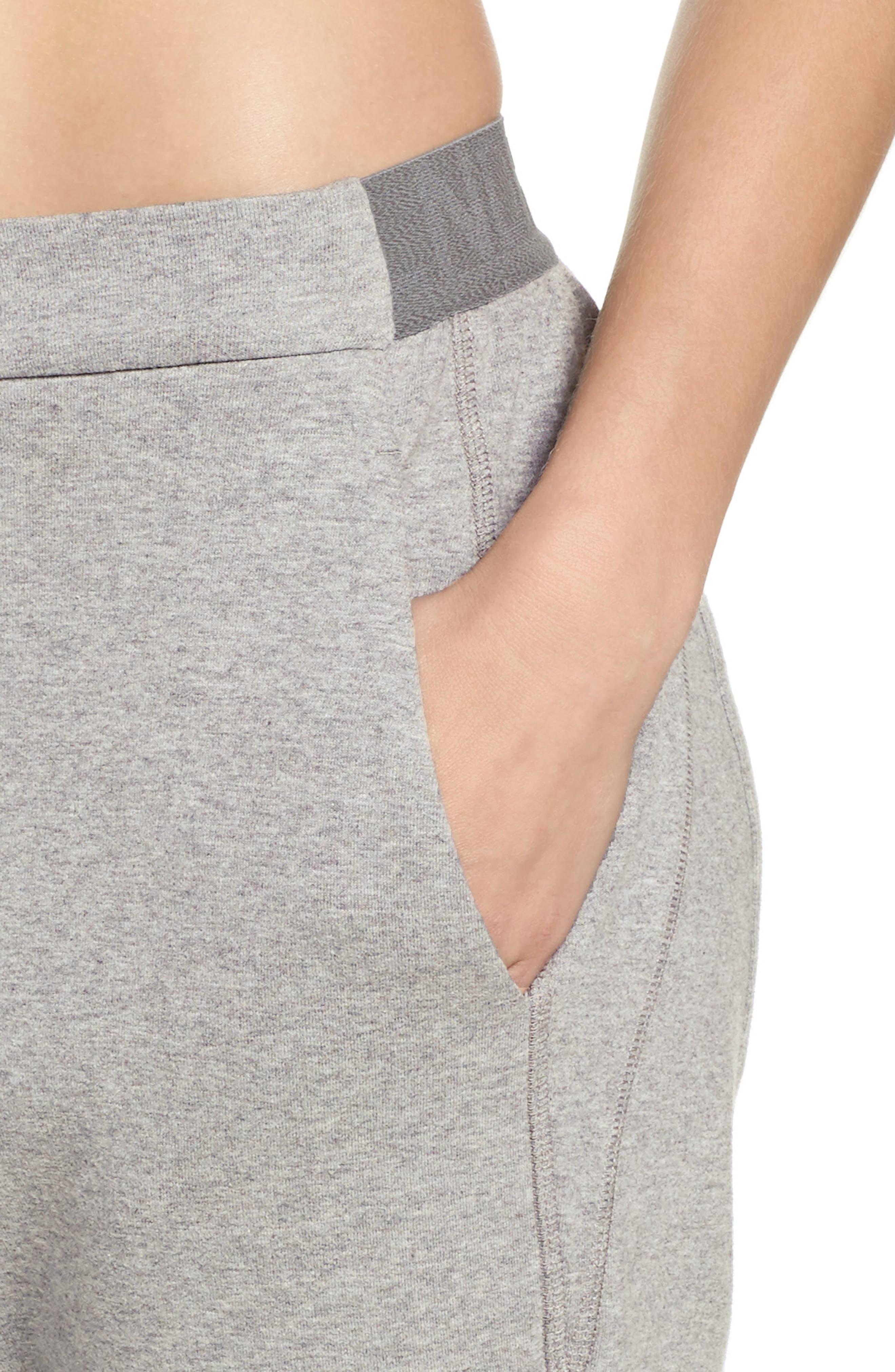 Blixen Track Pants,                             Alternate thumbnail 4, color,                             Grey Marl