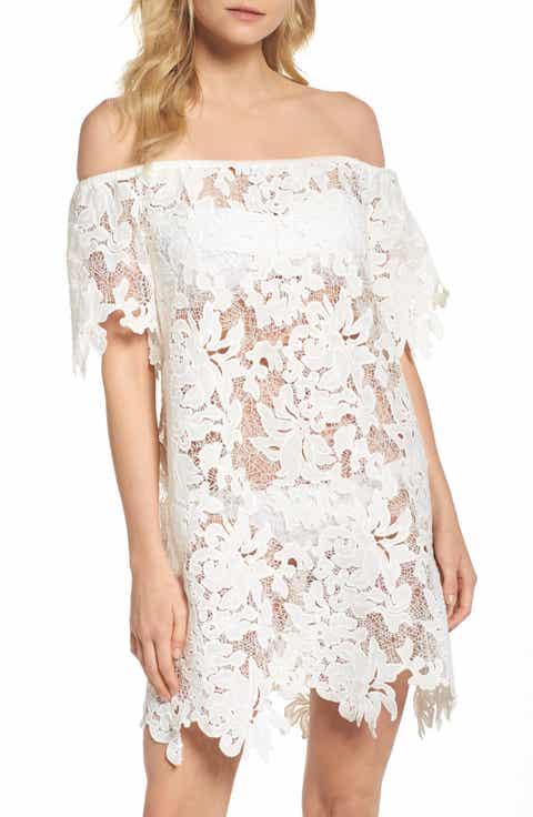 Muche et Muchette Ode Rosette Lace Cover-Up Dress