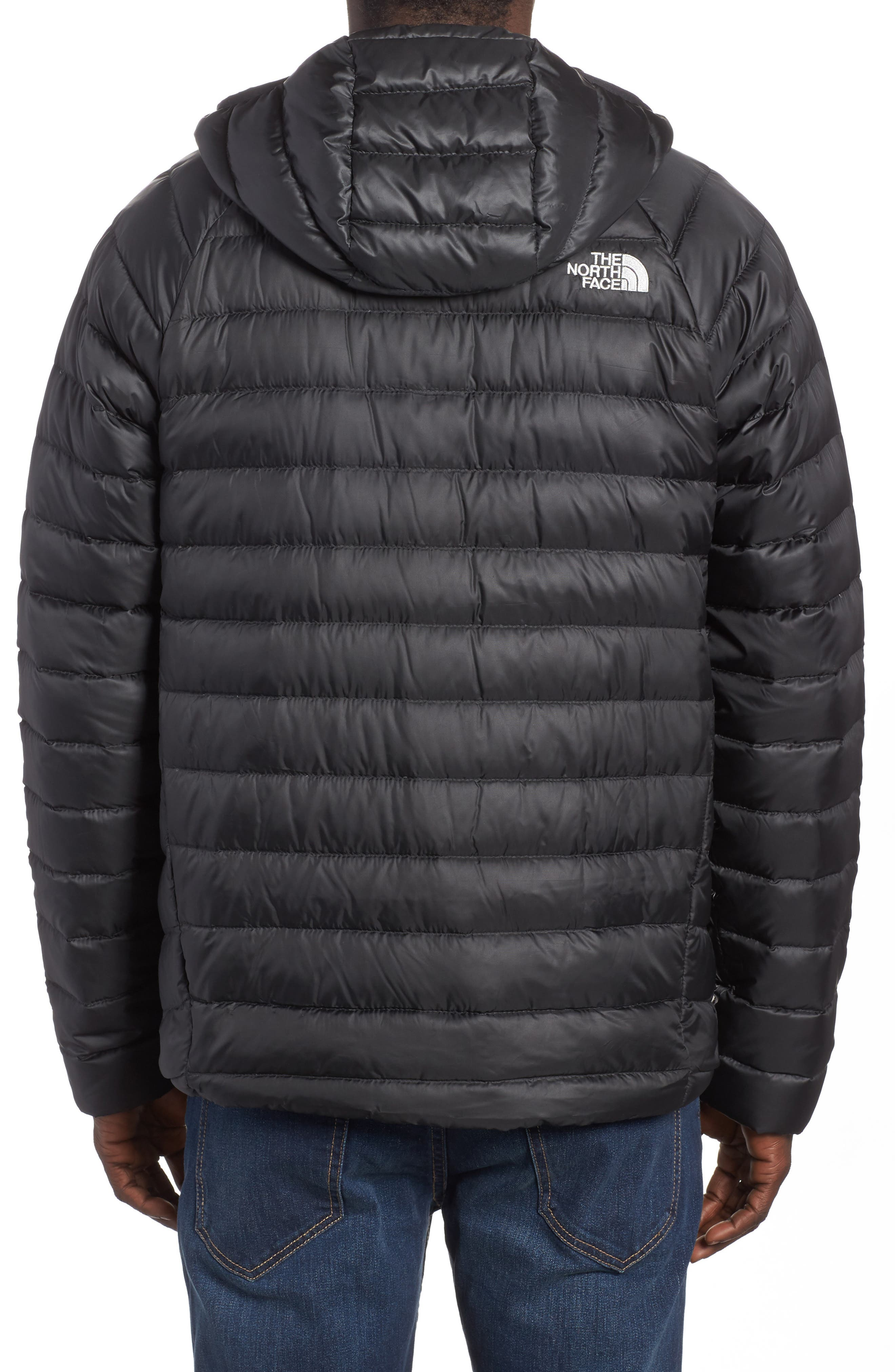 Alternate Image 2  - The North Face Trevail Water Repellent Packable 800-Fill-Power Down Hooded Jacket