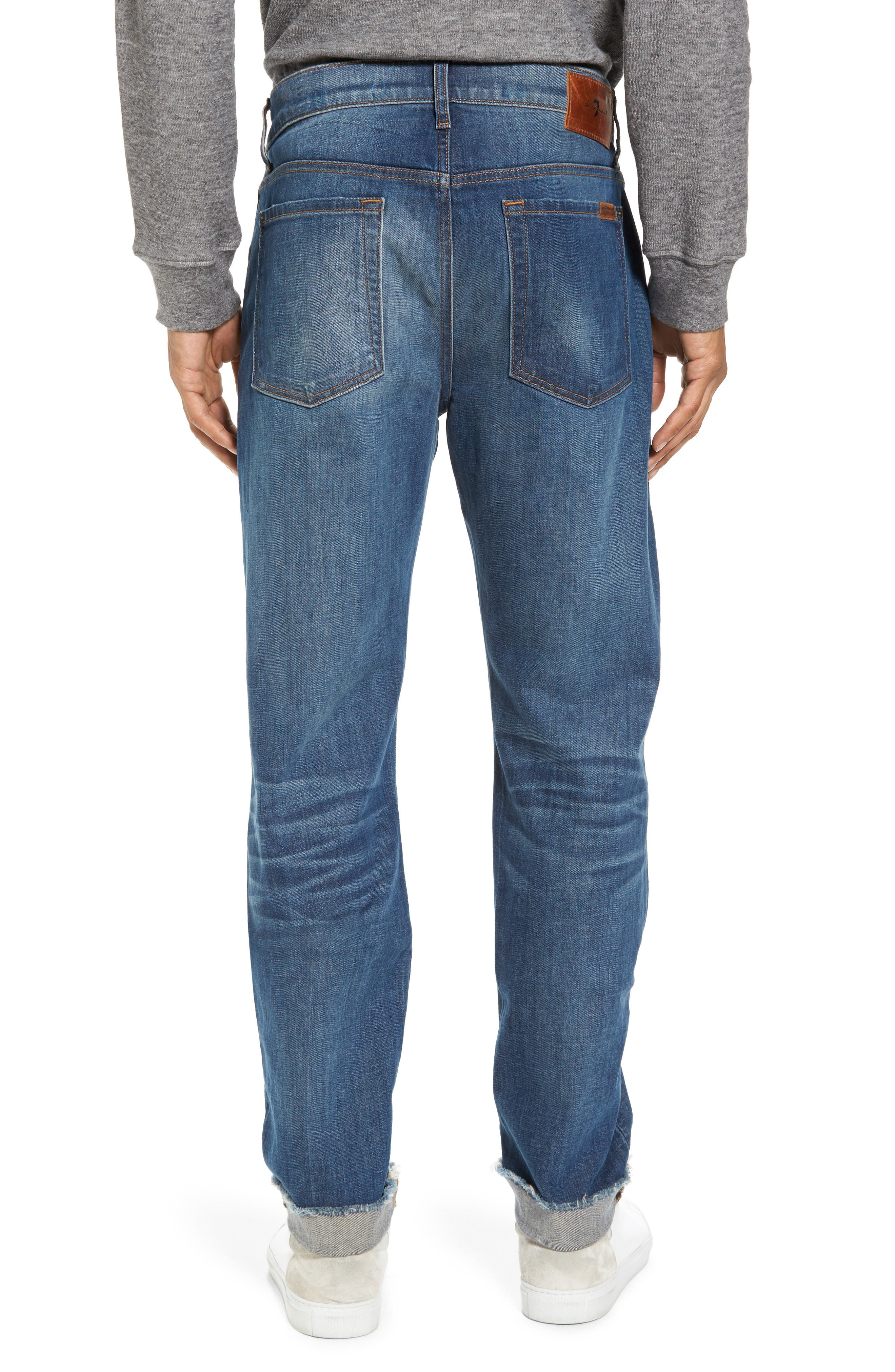 Alternate Image 2  - 7 For All Mankind® Adrien Slim Fit Jeans (Walk Out)