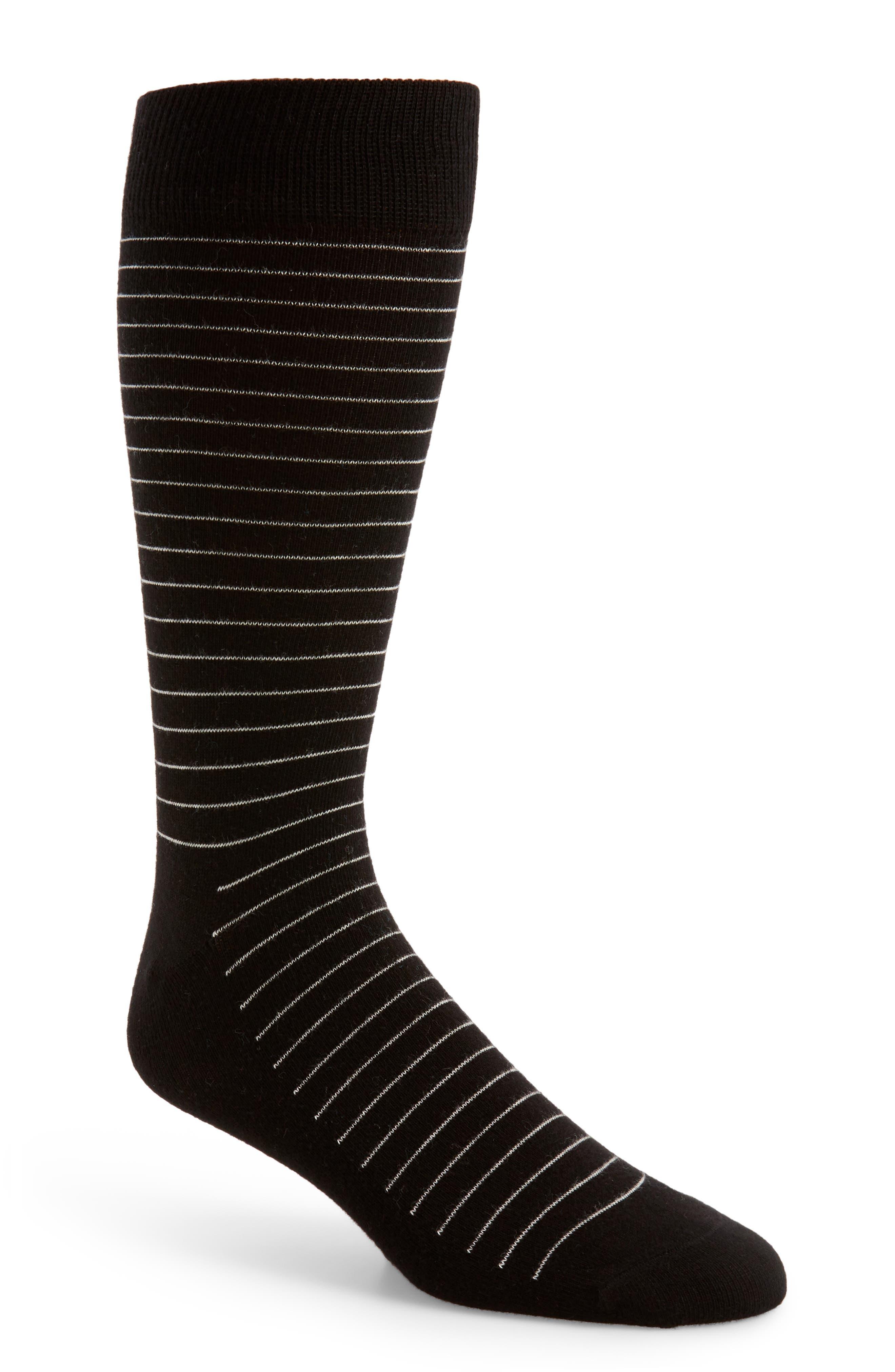 Alternate Image 1 Selected - Happy Socks Thin Stripe Socks