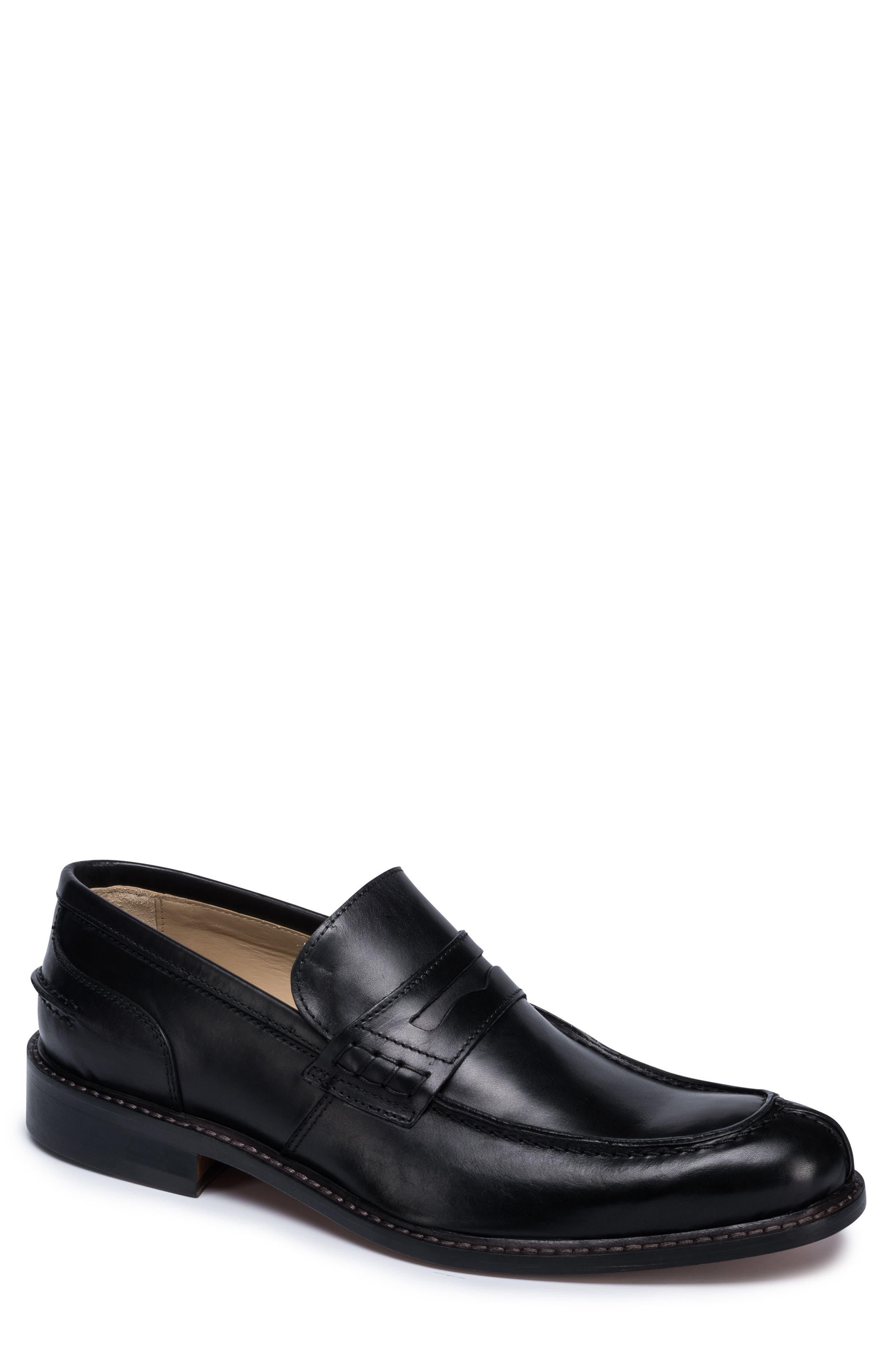 Alternate Image 1 Selected - Bugatchi Apron Toe Penny Loafer (Men)