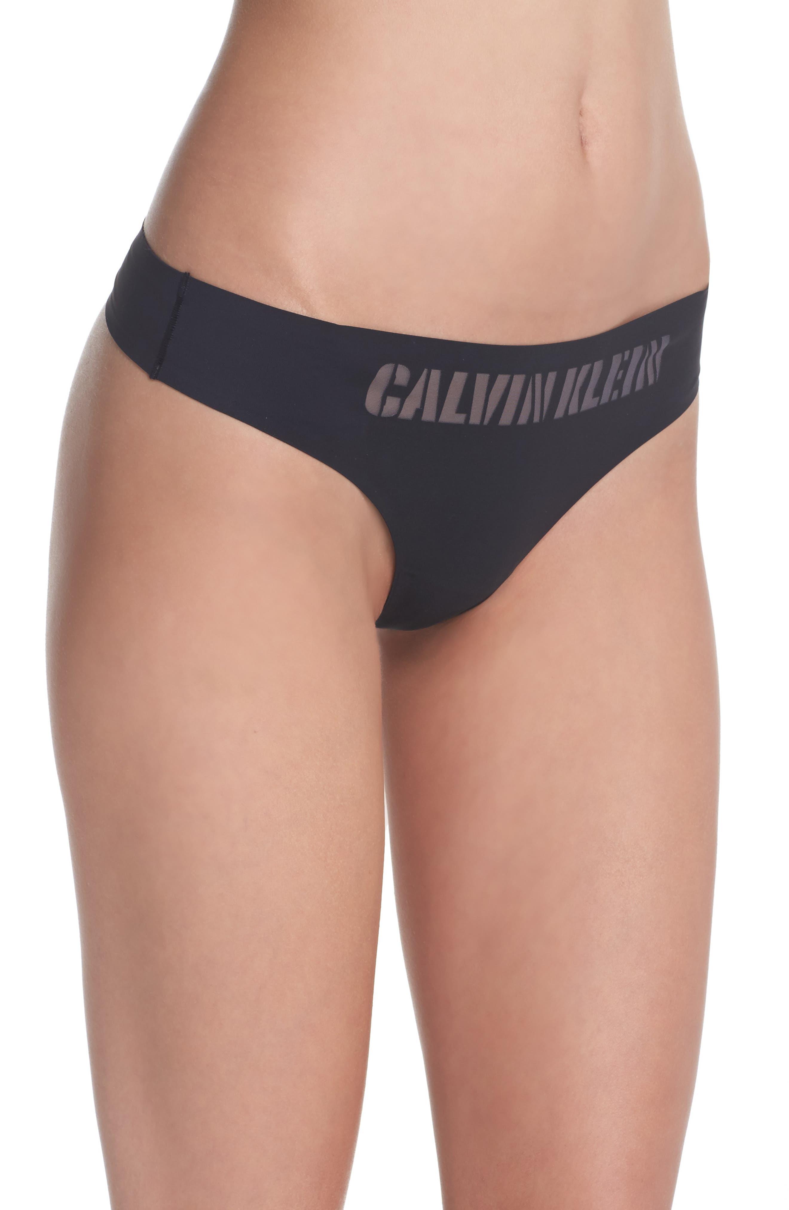 Alternate Image 3  - Calvin Klein Laser Thong