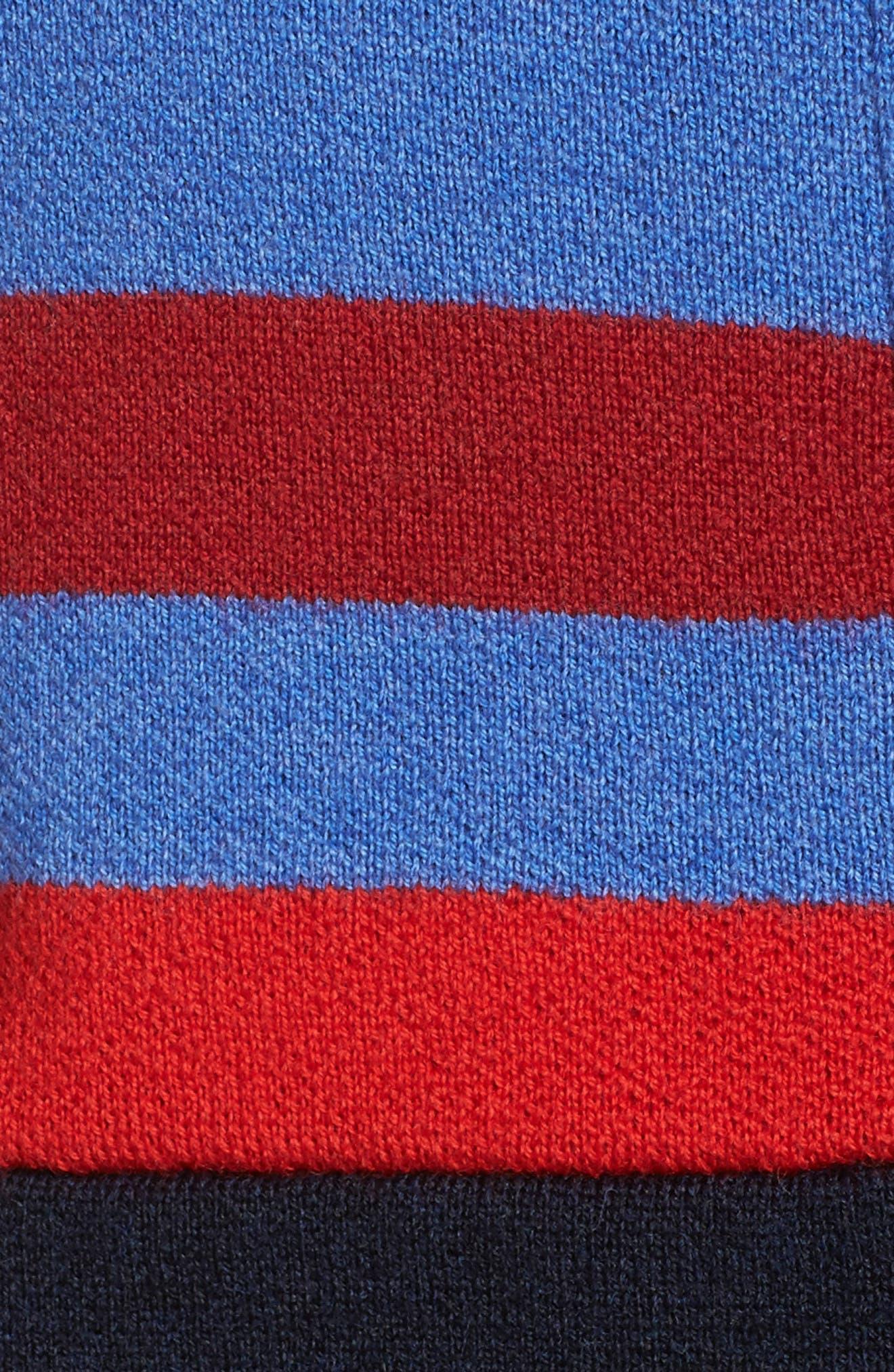 Merino Wool Zip Jacket,                             Alternate thumbnail 6, color,                             Sky Blue
