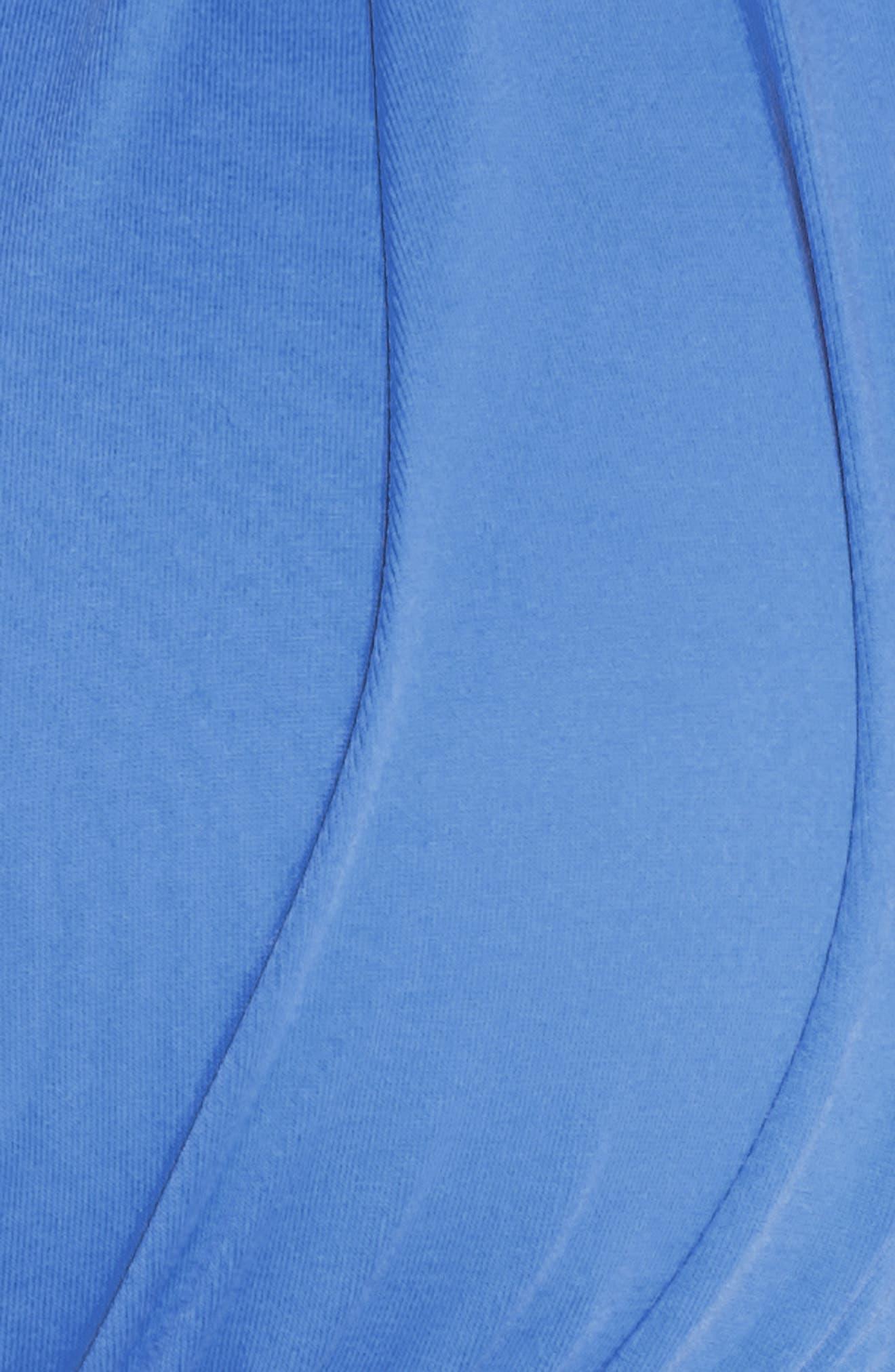 Island Blanca Halter Bikini Top,                             Alternate thumbnail 5, color,                             Blue Suede