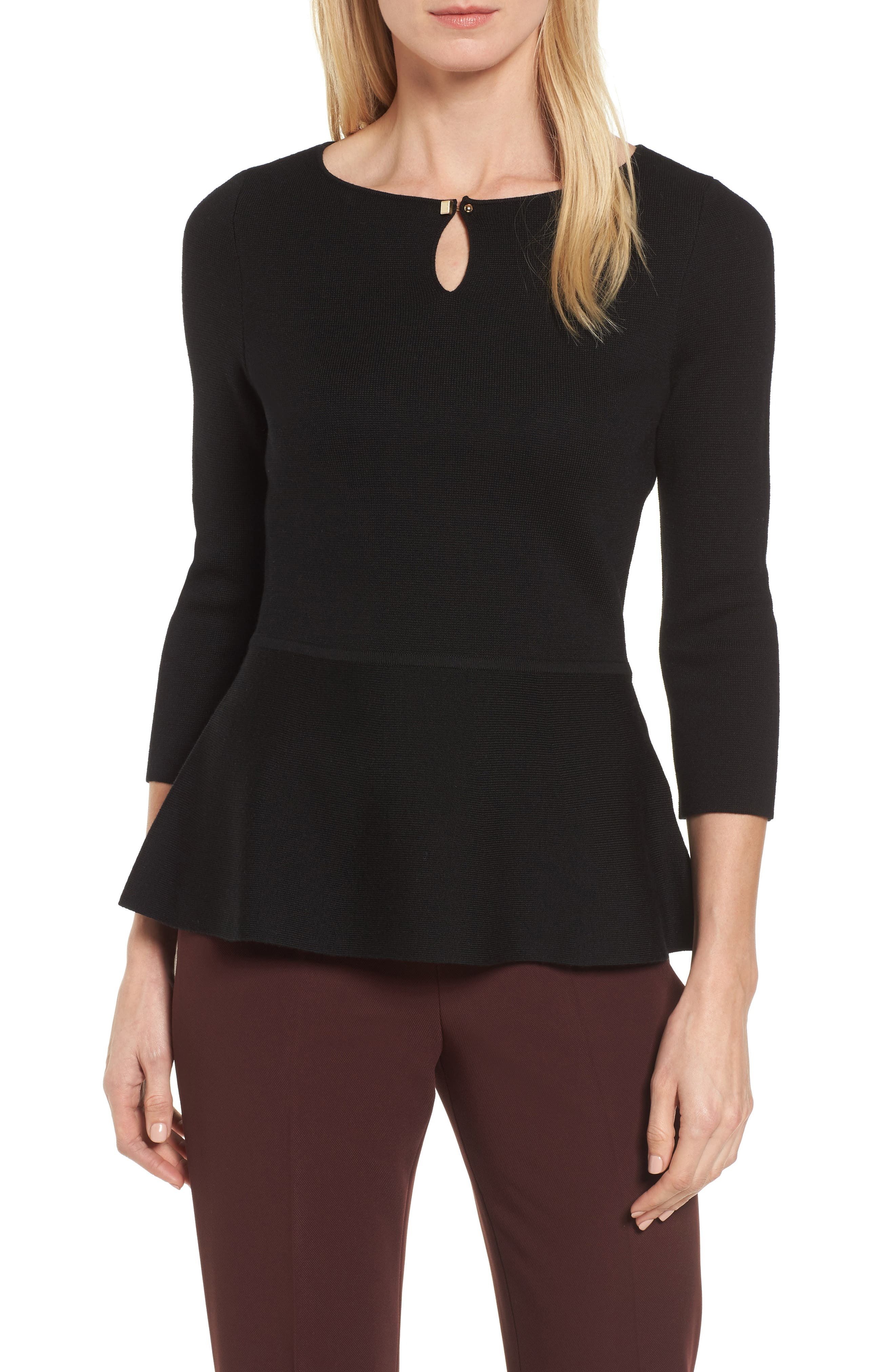 Alternate Image 1 Selected - BOSS Fylle Wool Sweater