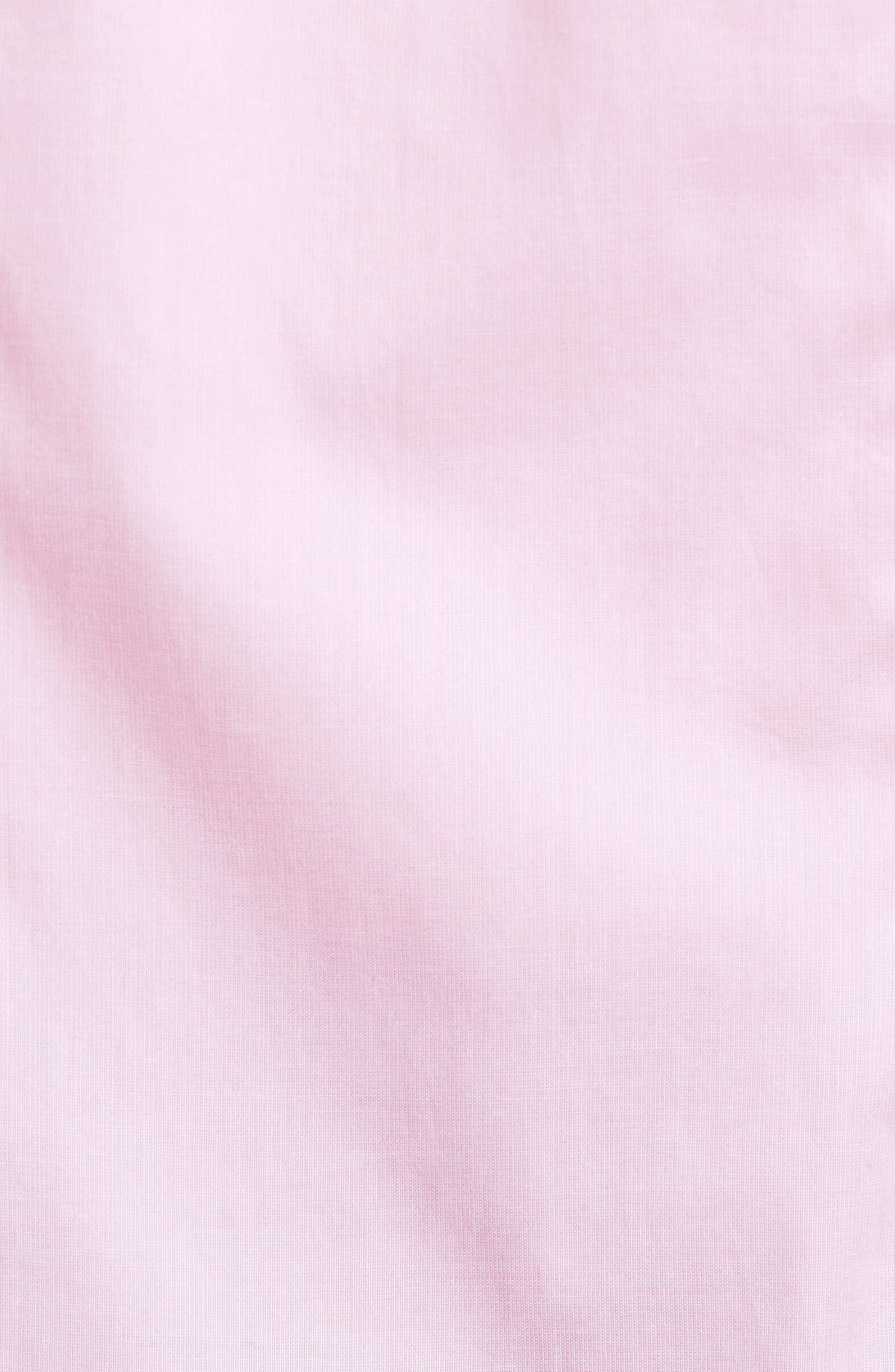 Alternate Image 5  - Culturata Slim Fit Micro Stripe Sport Shirt