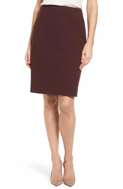BOSS Vuriona Suit Skirt (Regular & Petite)