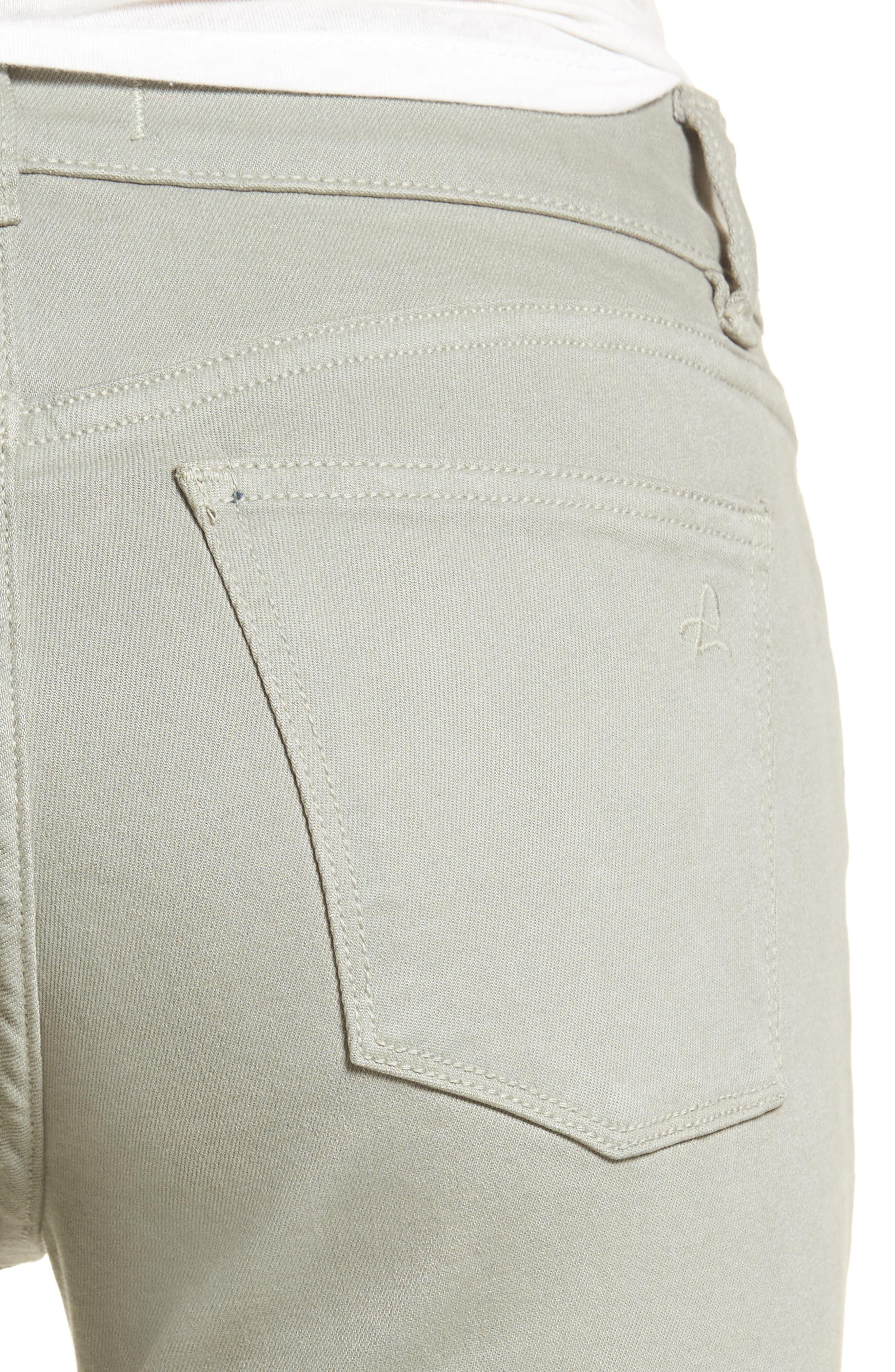 Alternate Image 4  - DL1961 Florence Instasculpt Crop Skinny Jeans (Grove)