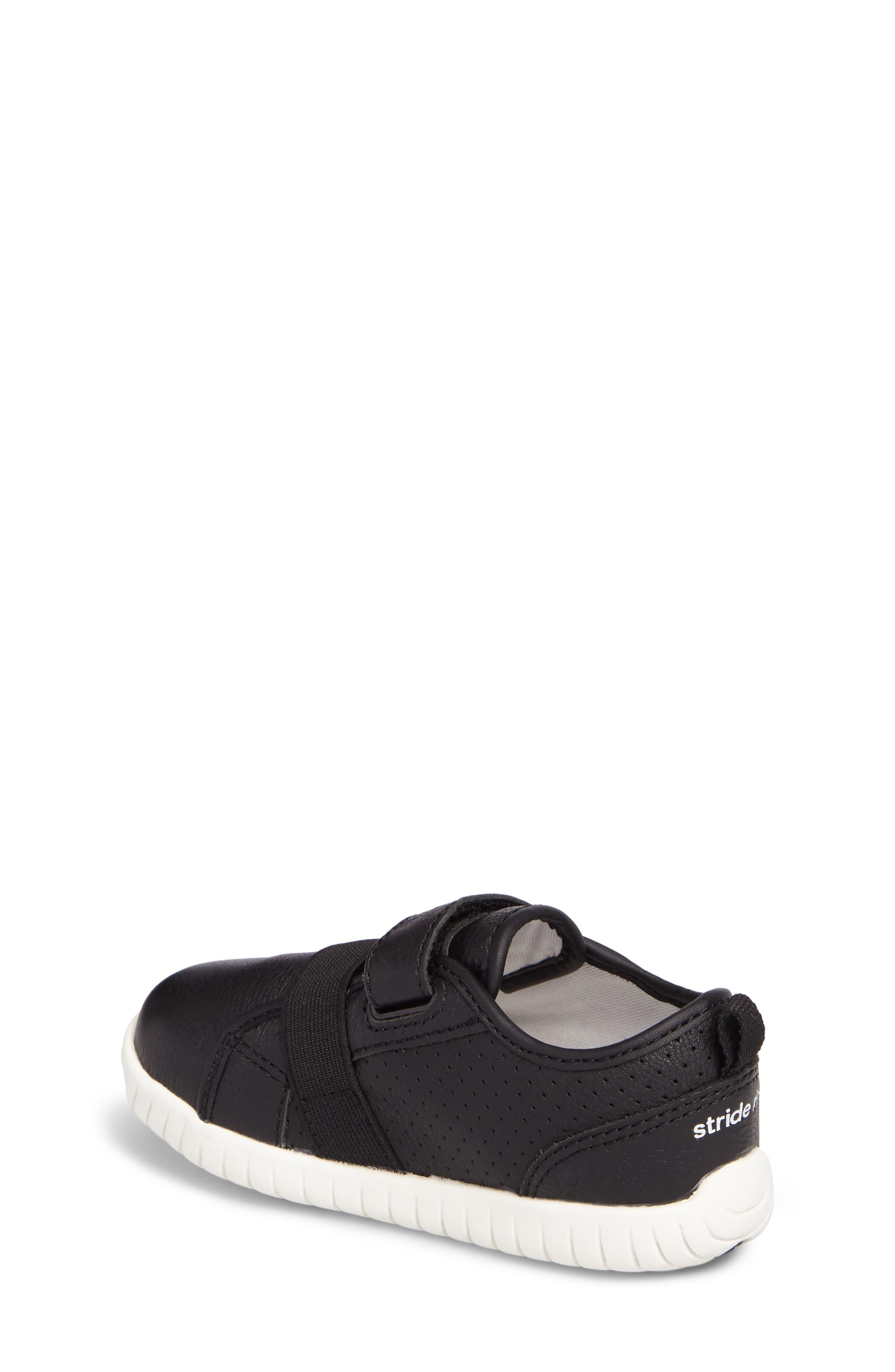 SRT Riley Sneaker,                             Alternate thumbnail 2, color,                             Black Leather