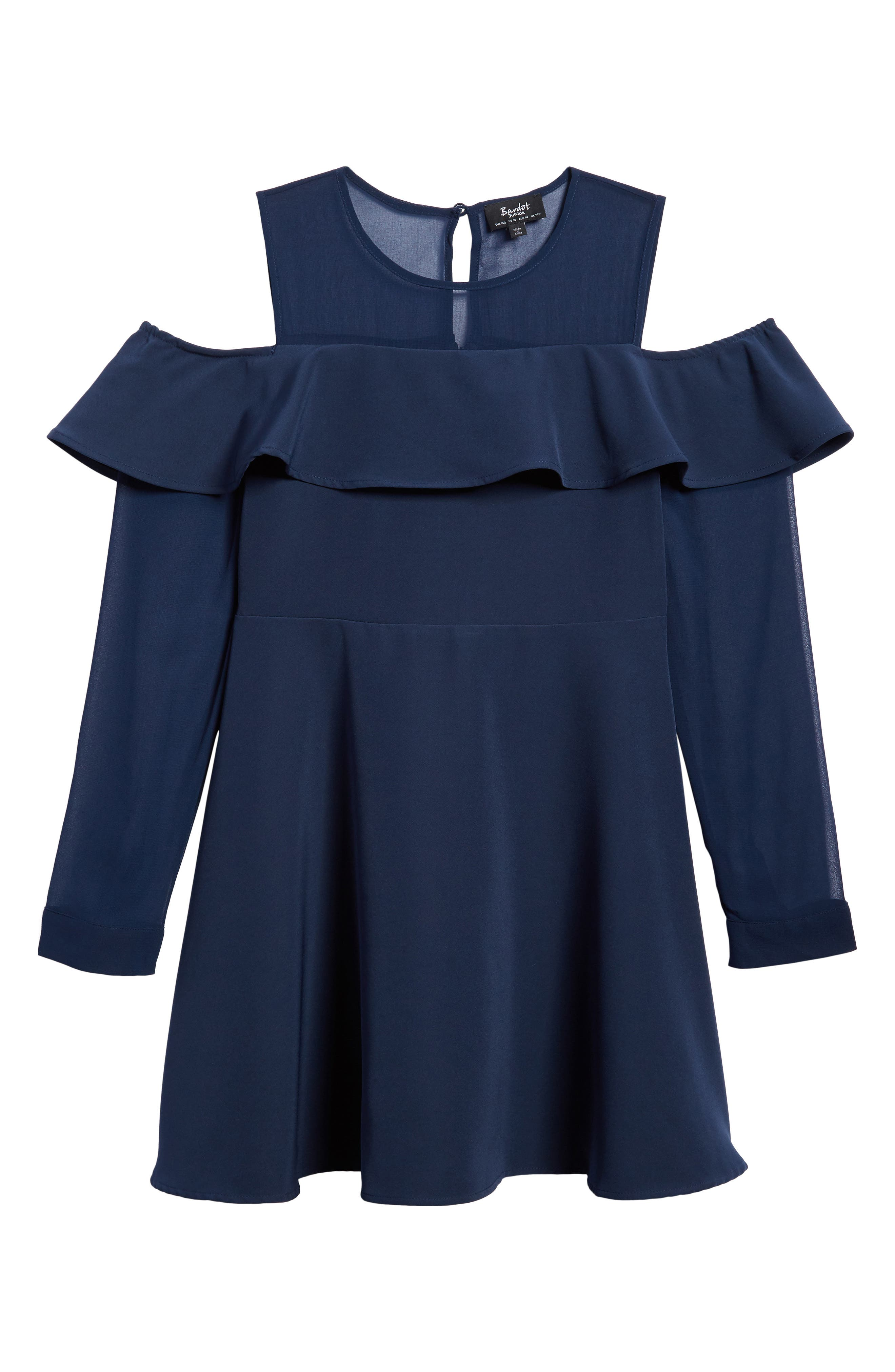 Bardot Junior Shae Cold Shoulder Dress (Big Girls)