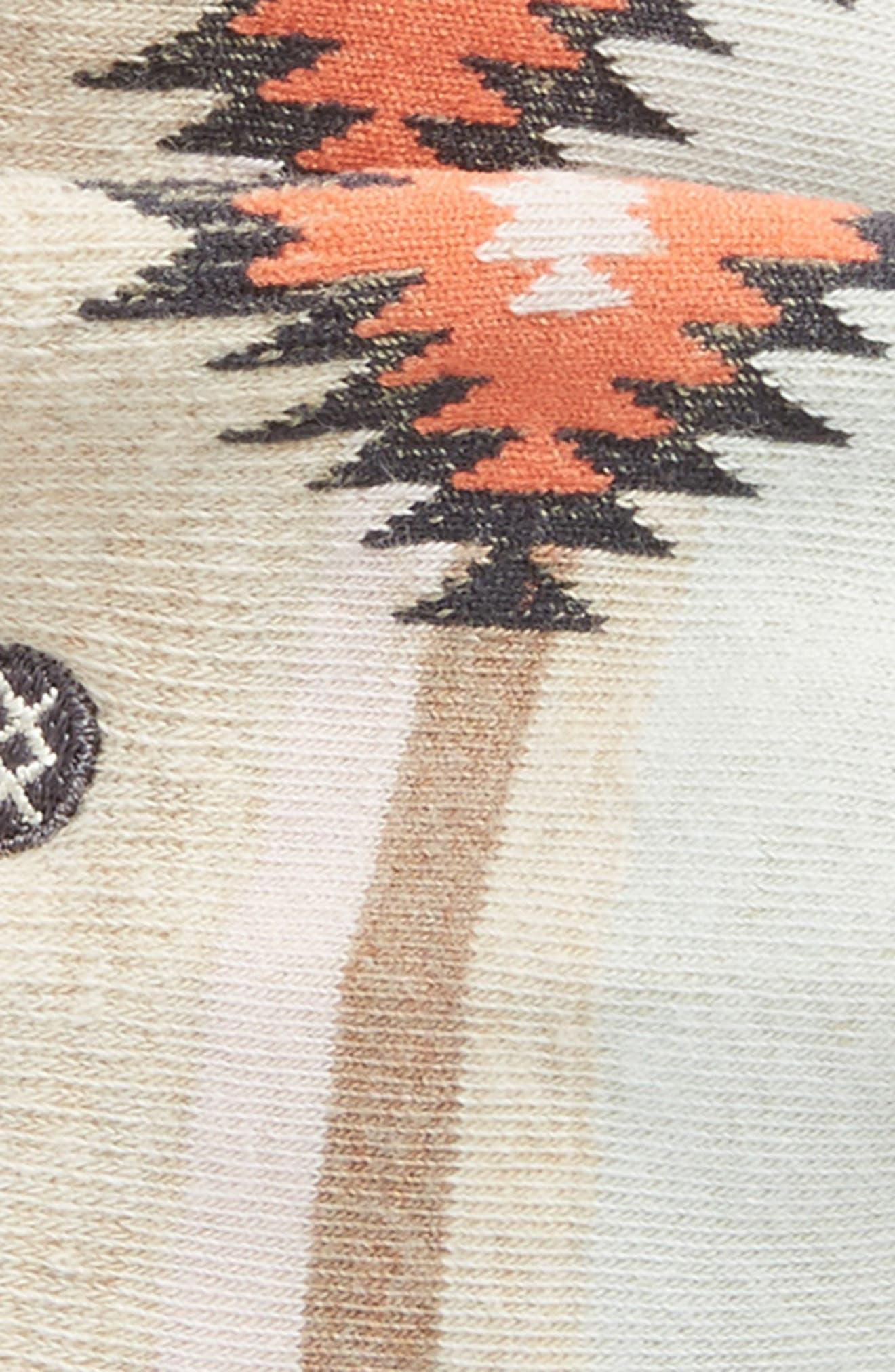 Alternate Image 2  - Stance Belle Geo Pattern No-Show Socks (Toddler, Little Kid & Big Kid)