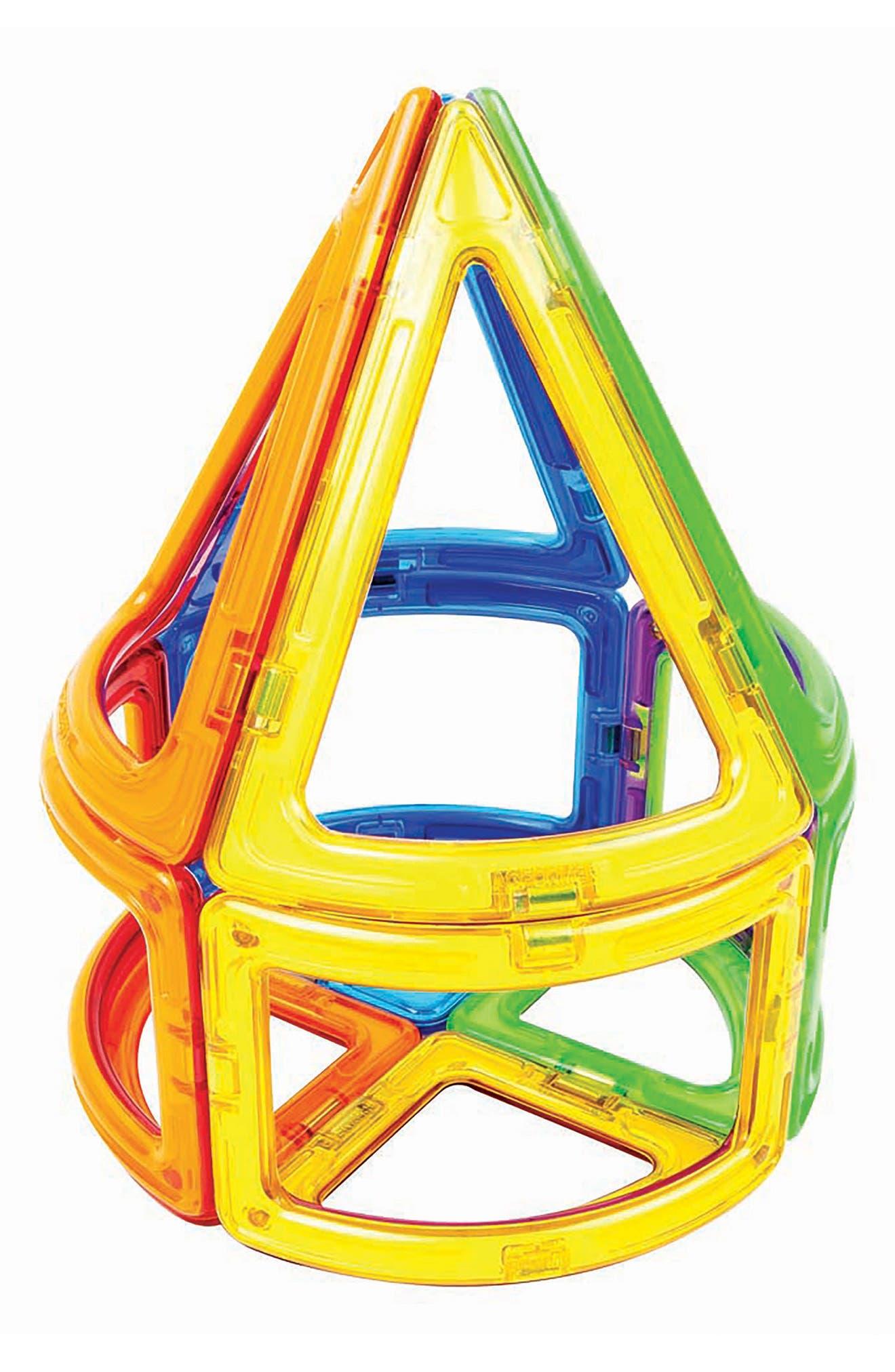 Alternate Image 5  - Magformers 20-Piece Curve Magnetic 3D Construction Set