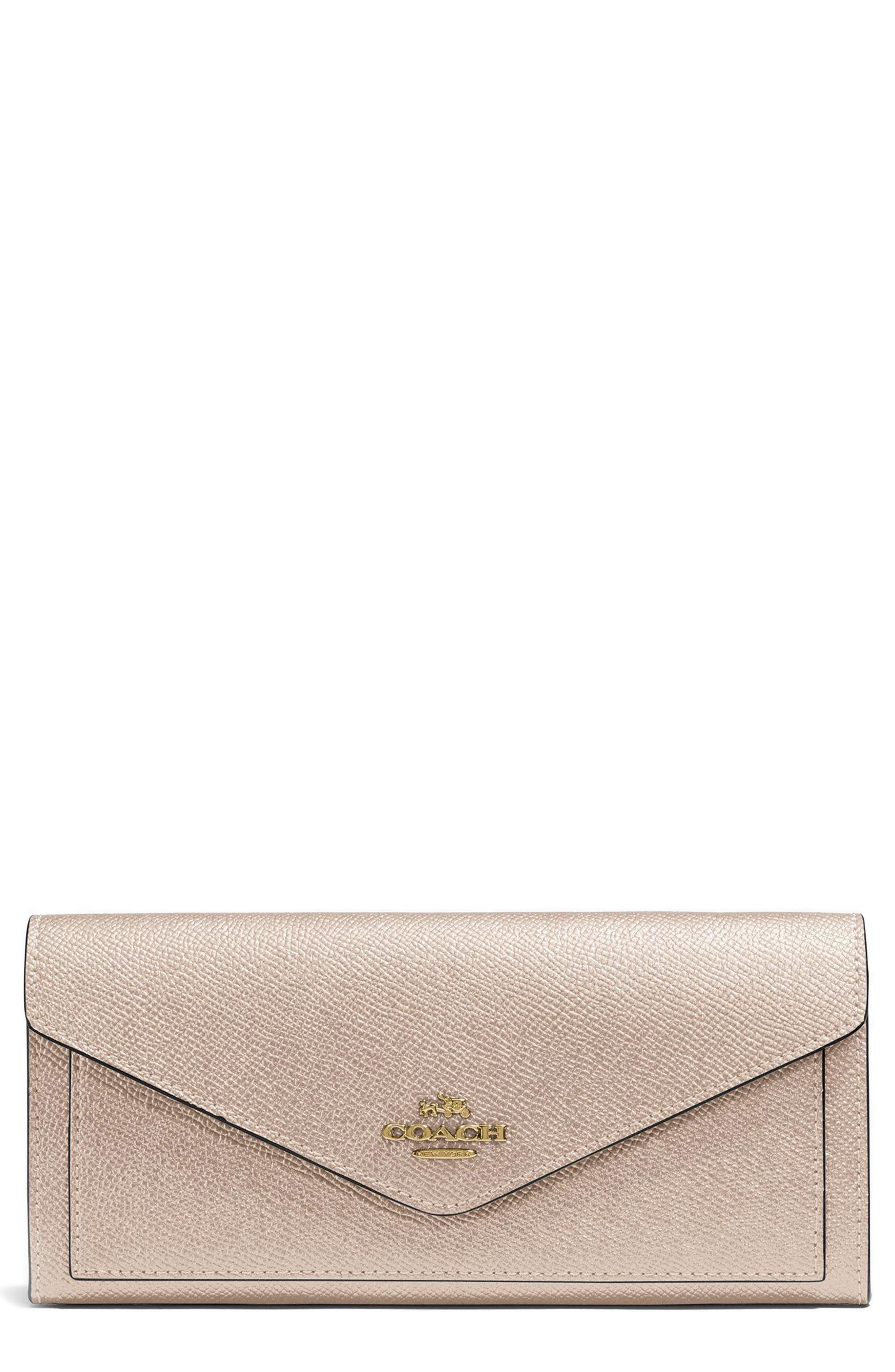 COACH Soft Calfskin Wallet