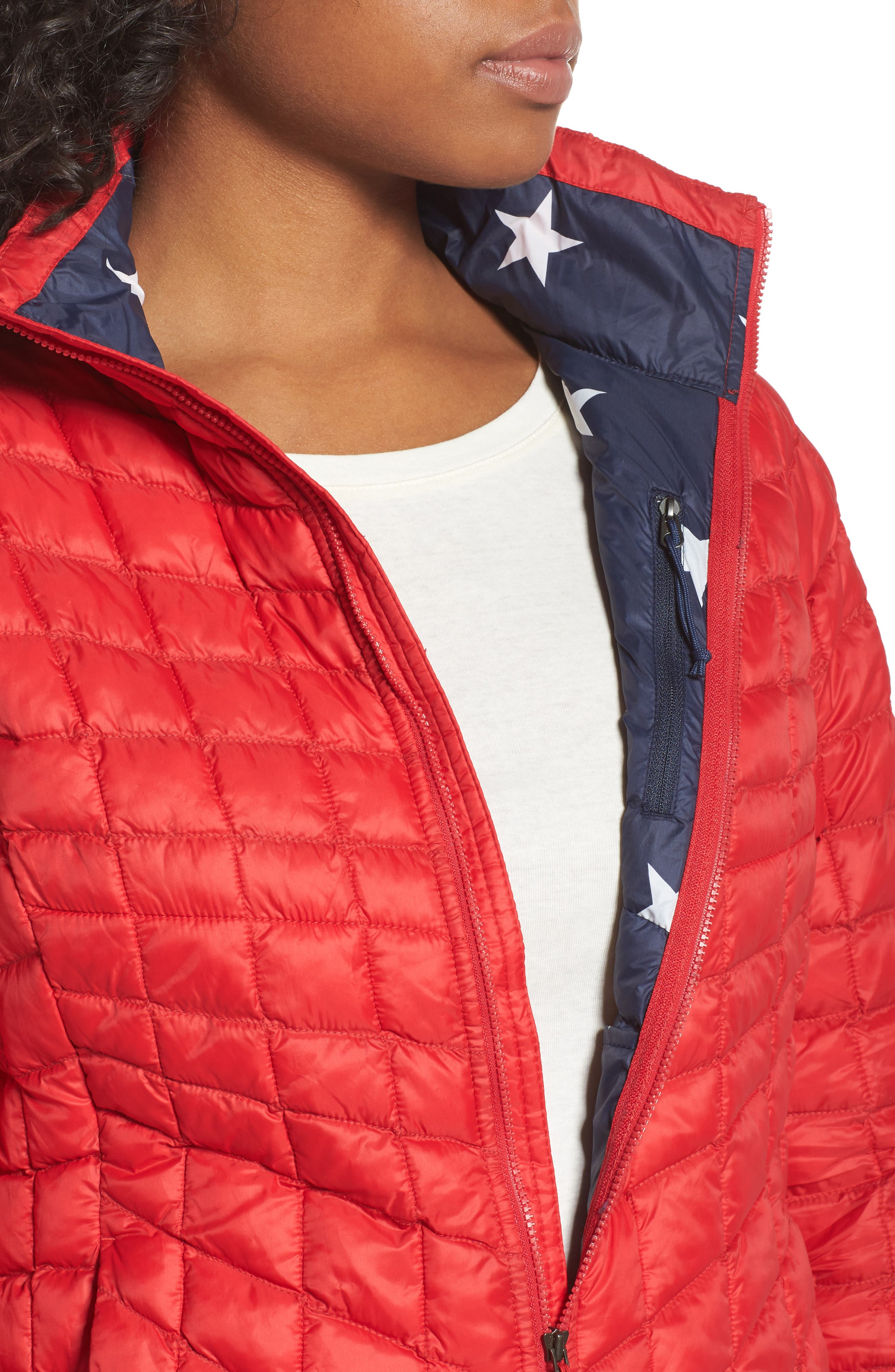 ThermoBall<sup>™</sup> PrimaLoft<sup>®</sup> Jacket,                             Alternate thumbnail 4, color,                             Tnf Red