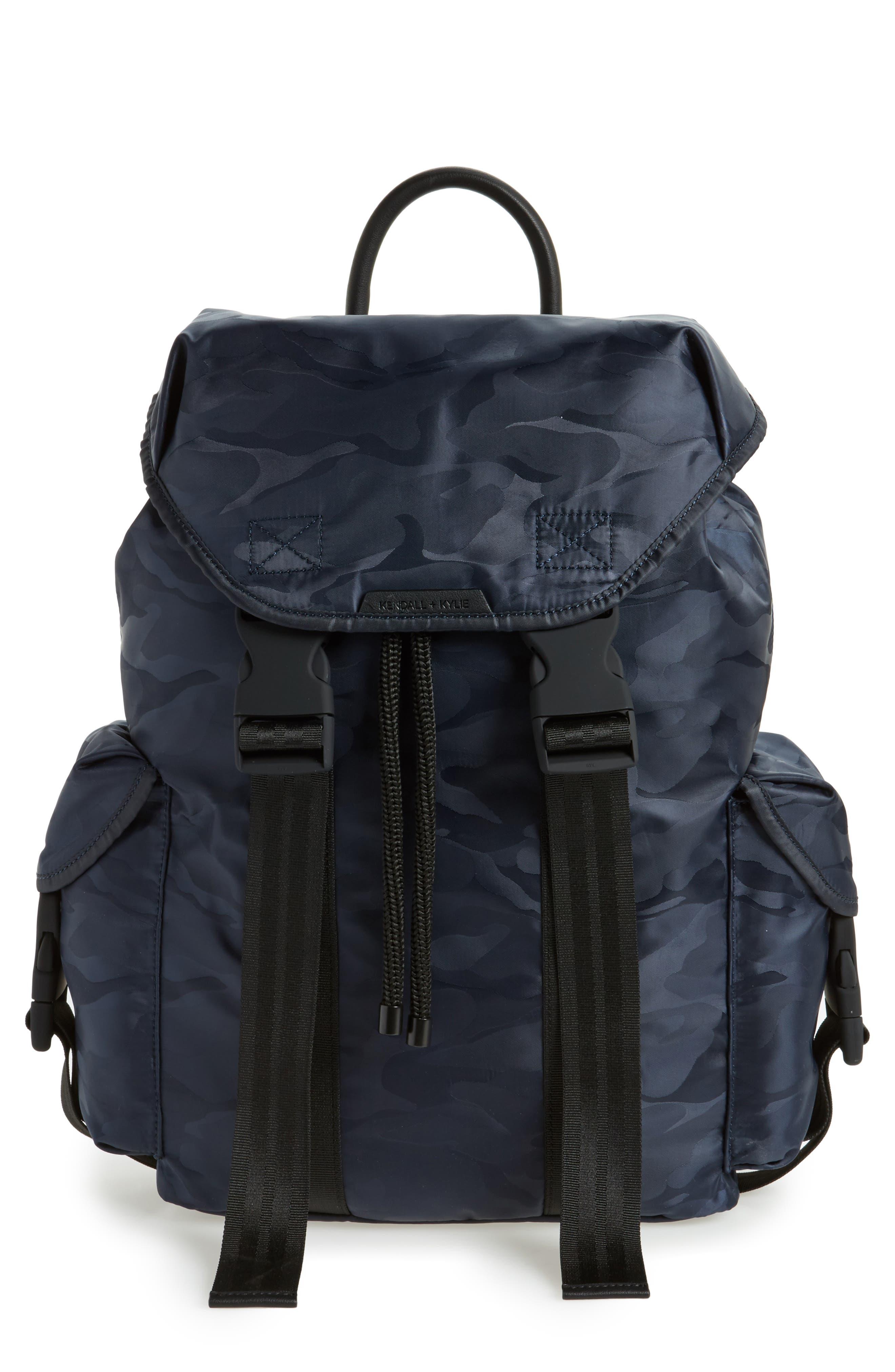 Alternate Image 1 Selected - KENDALL + KYLIE Jordyn Nylon Backpack