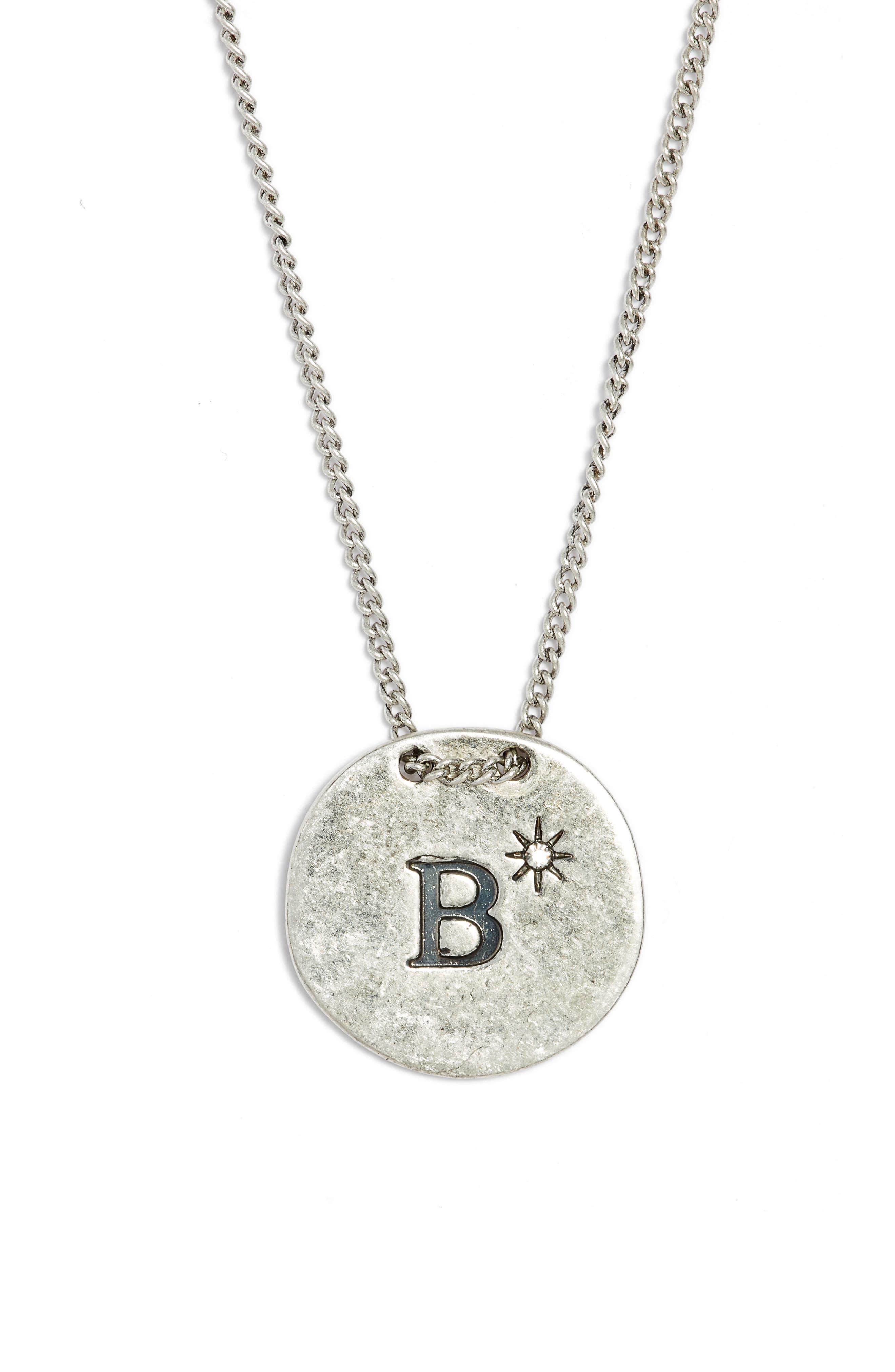 Treasure & Bond Initial Collar Necklace
