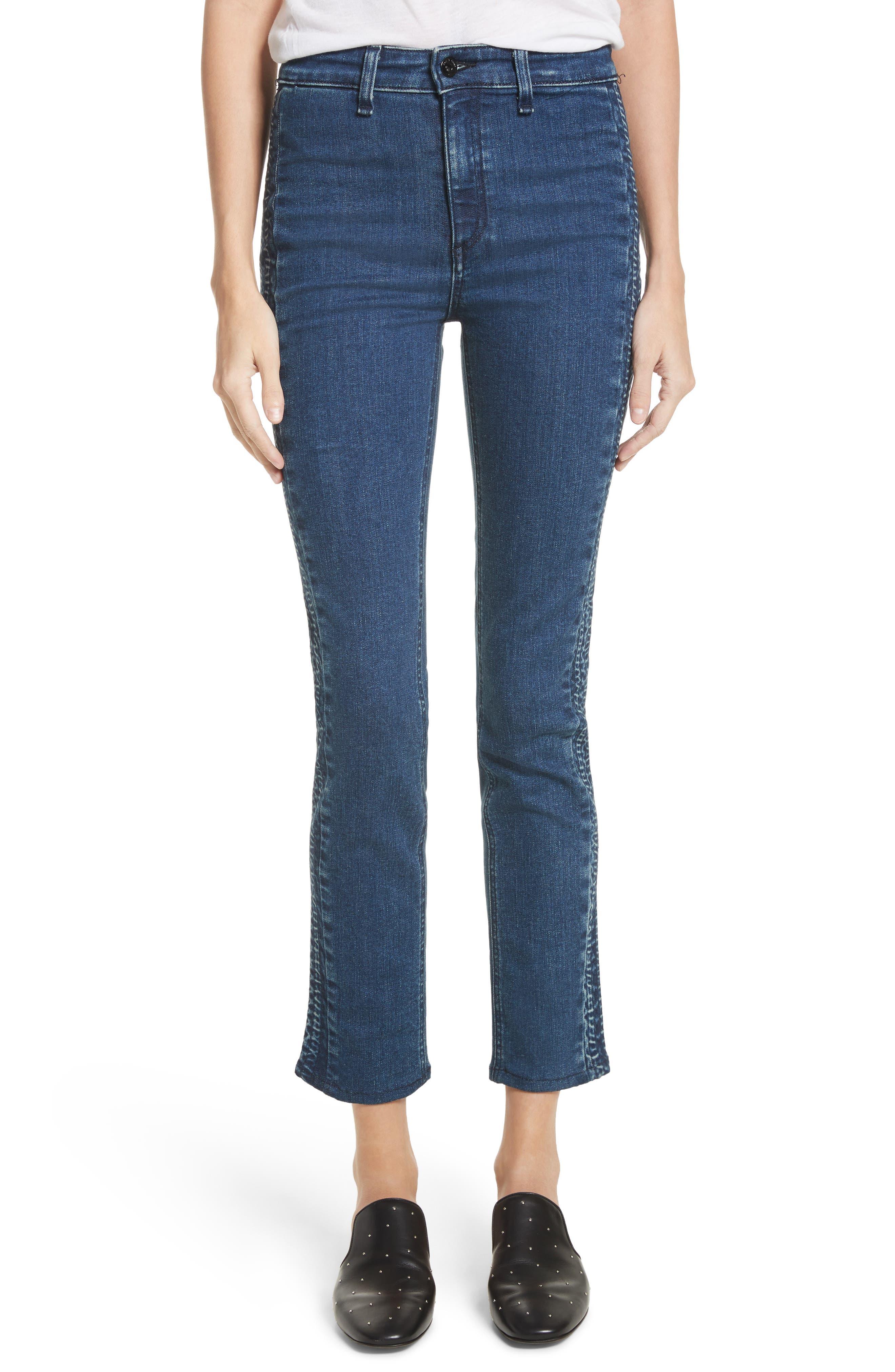Ranata Tuxedo Cigarette Jeans,                         Main,                         color, Le Ray