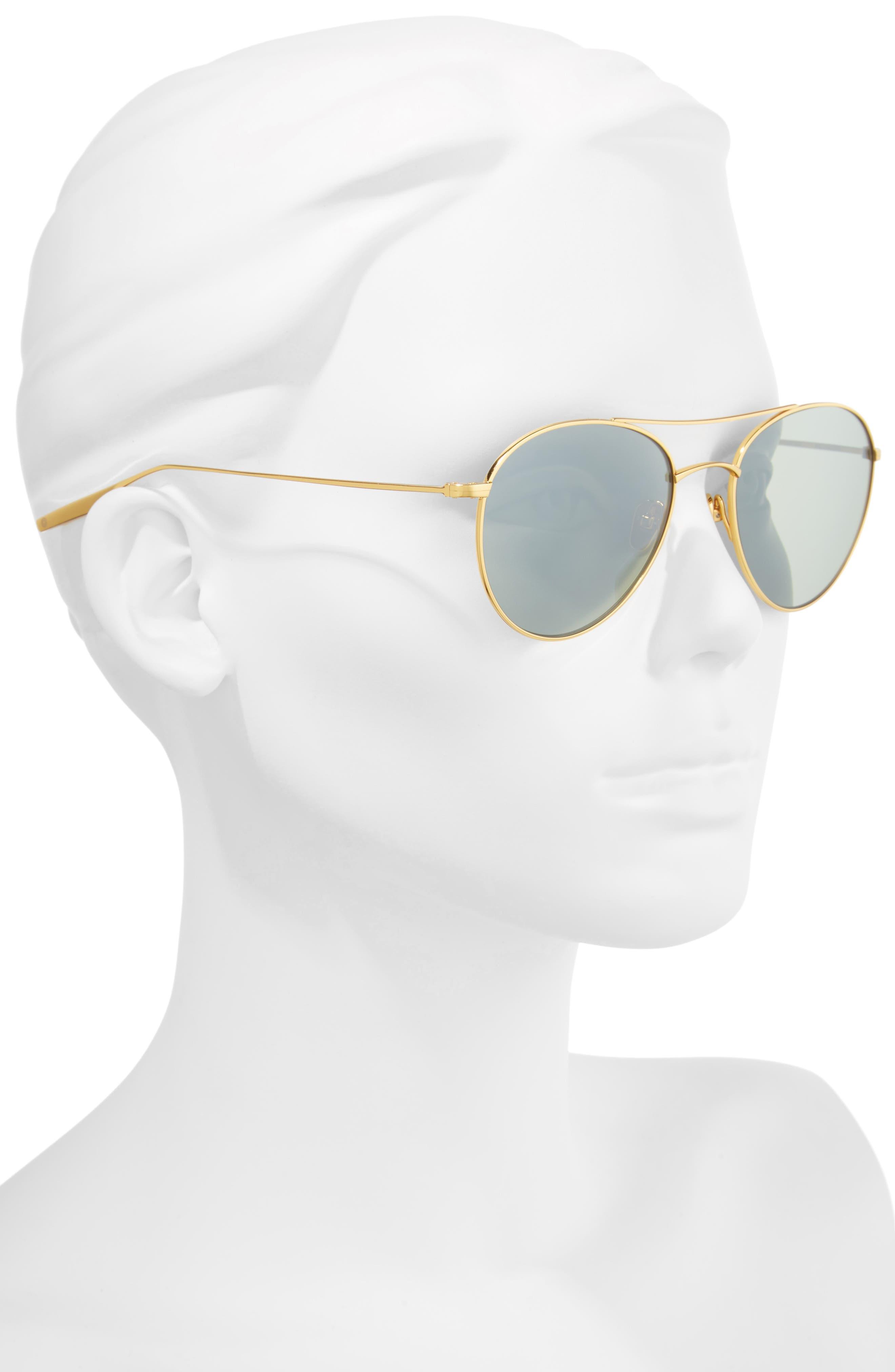 Alternate Image 2  - Salt 54mm Polarized Round Sunglasses
