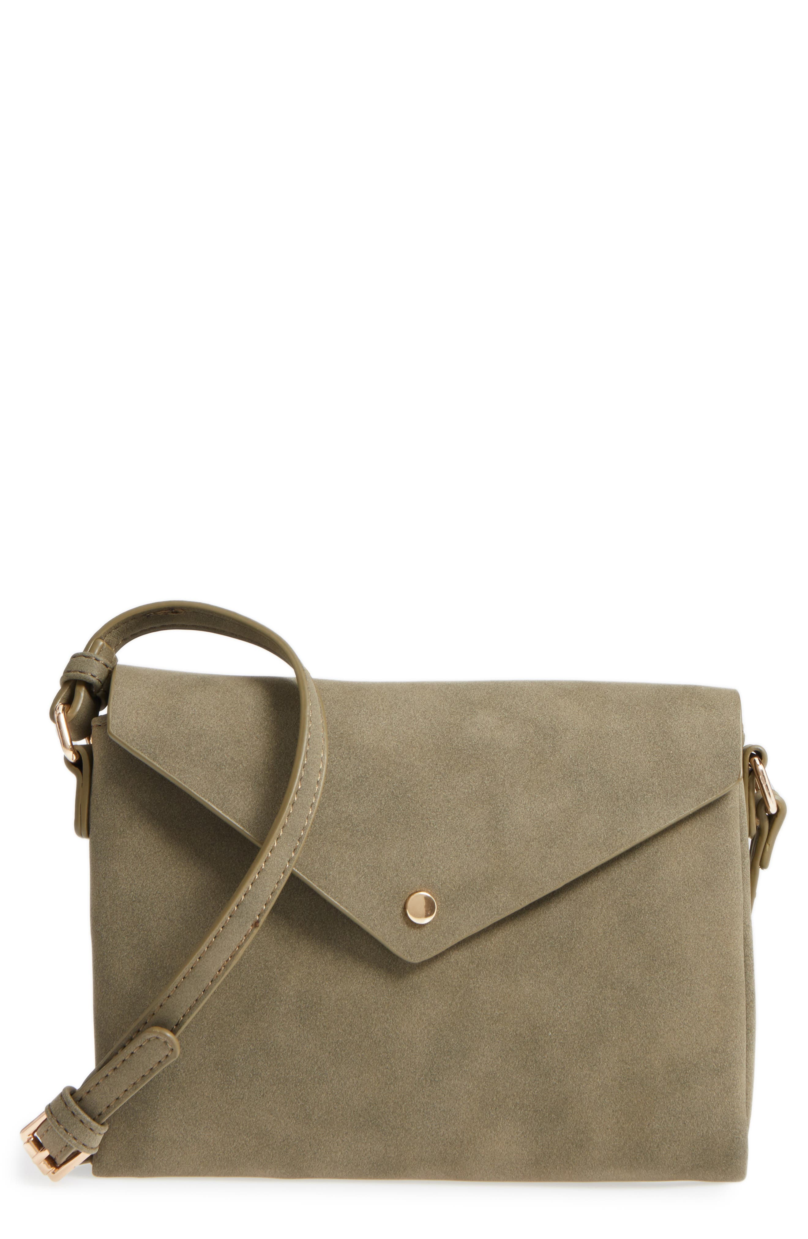 Street Level Envelope Crossbody Bag