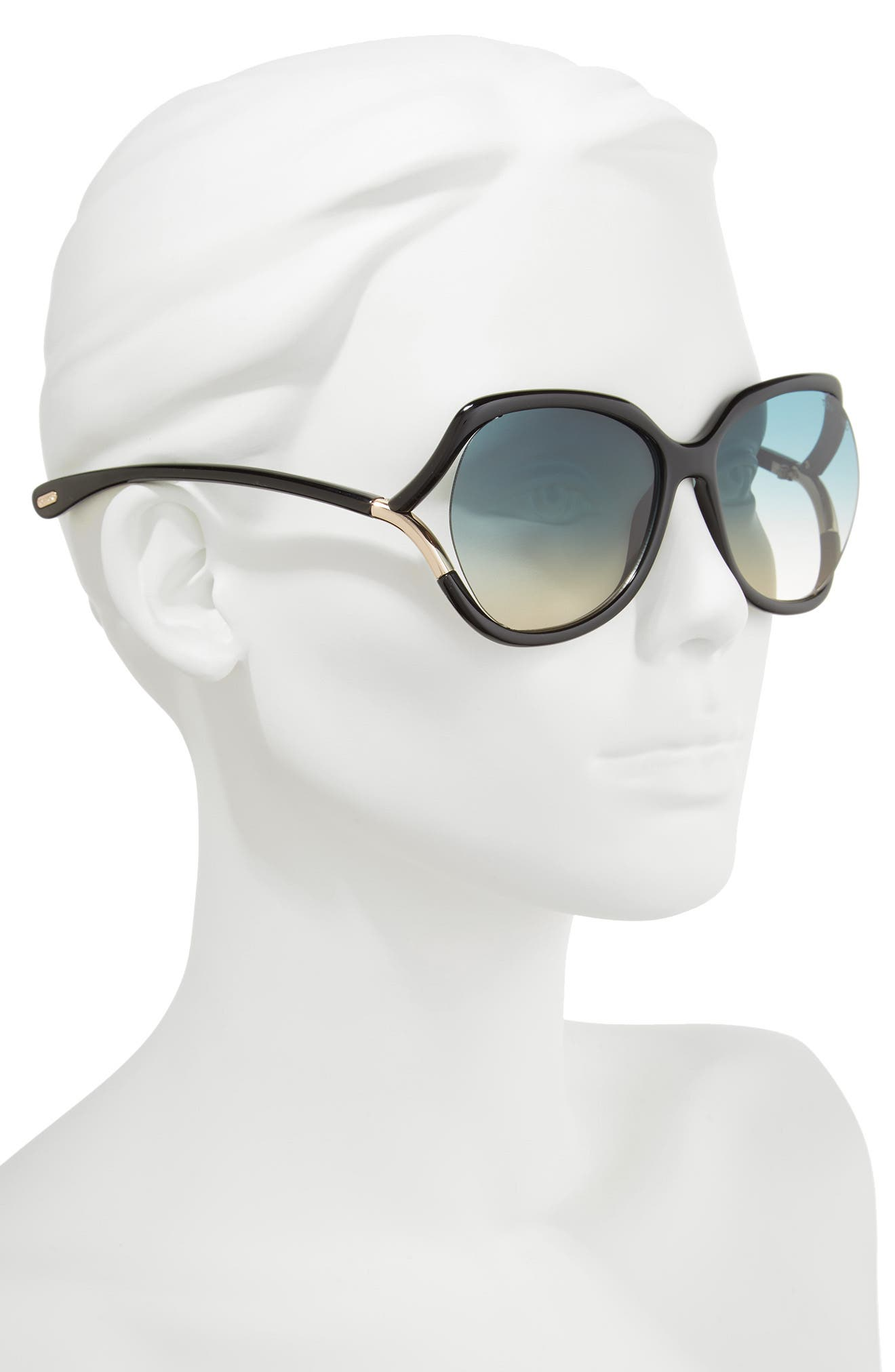 Alternate Image 2  - Tom Ford Anouk 60mm Geometric Sunglasses