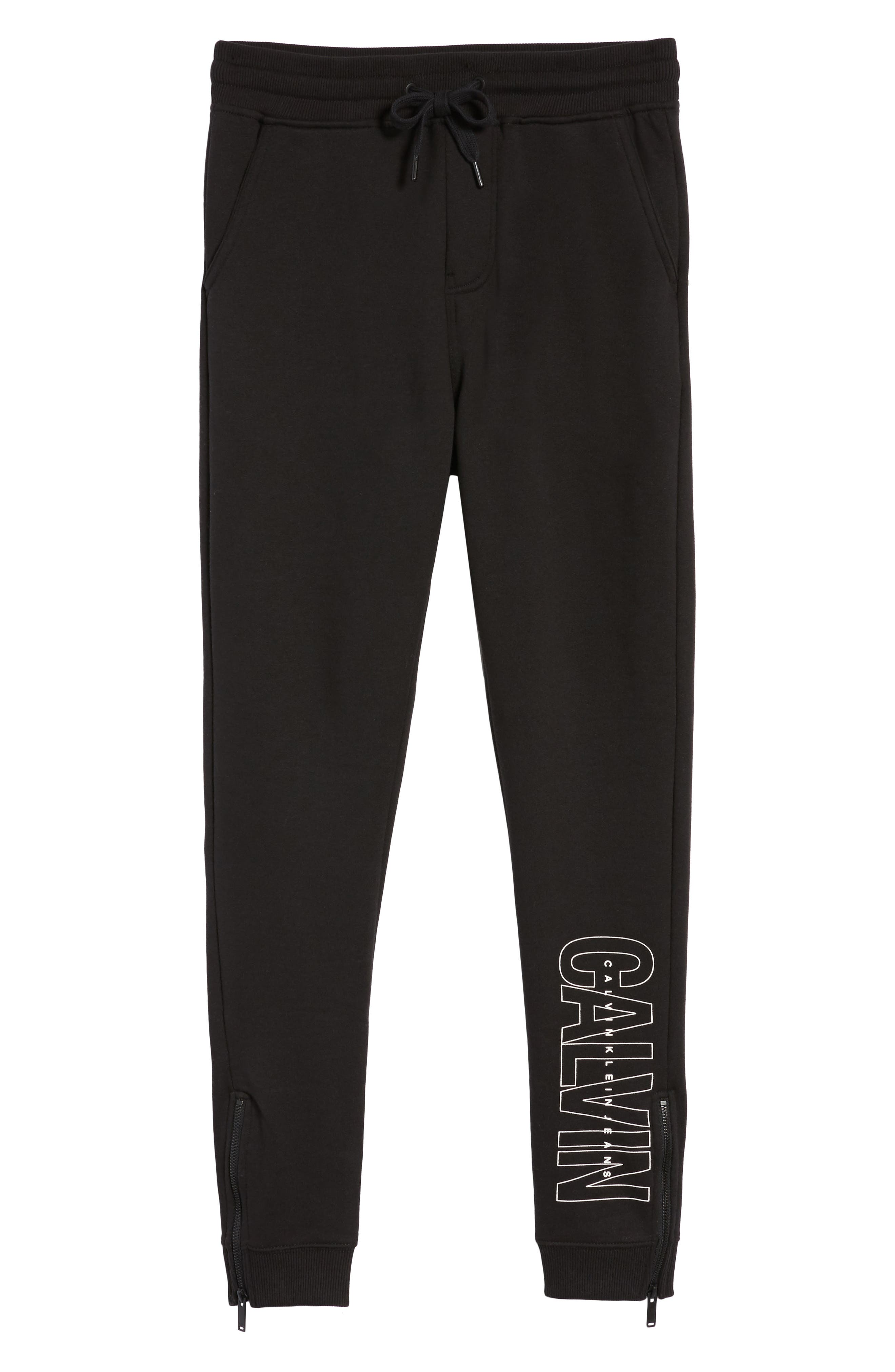 Sweatpants,                             Alternate thumbnail 6, color,                             Black