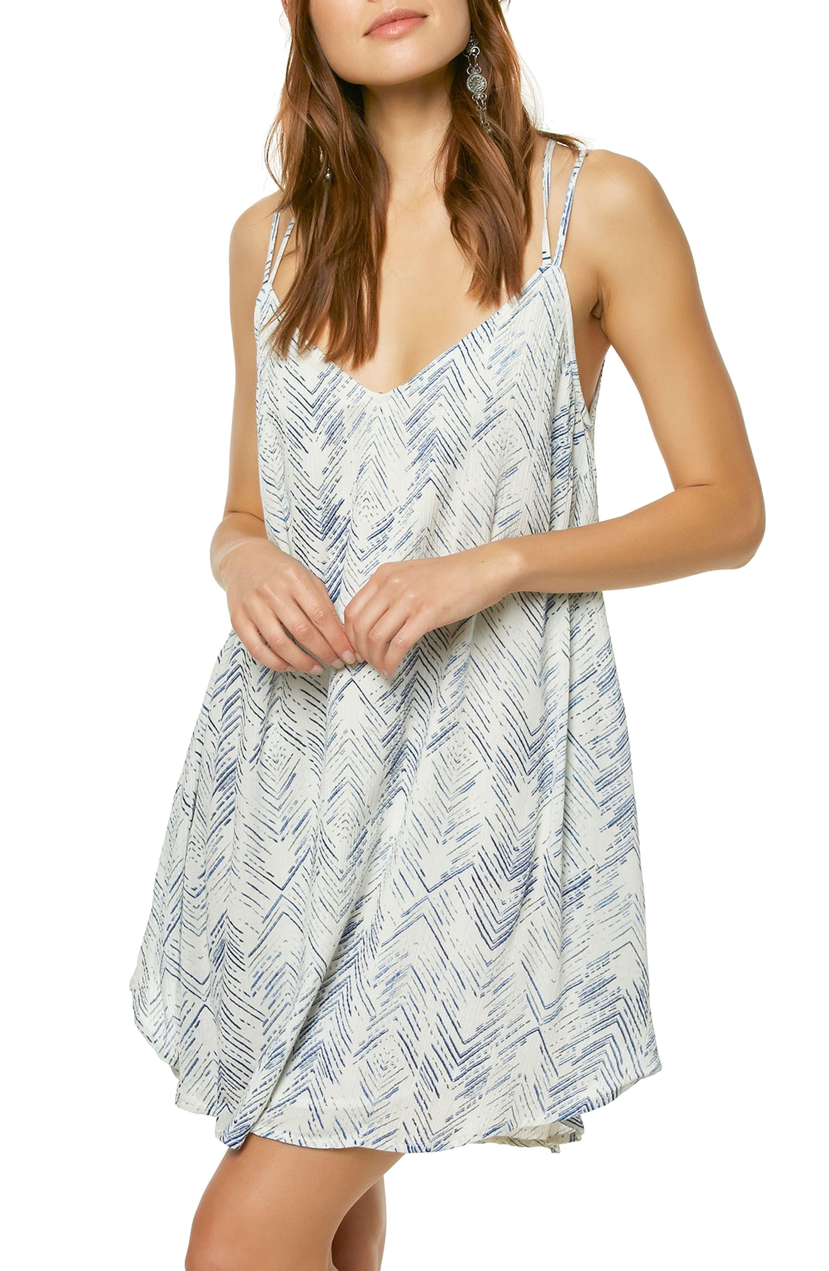 Liana High/Low Slipdress,                         Main,                         color, Naked