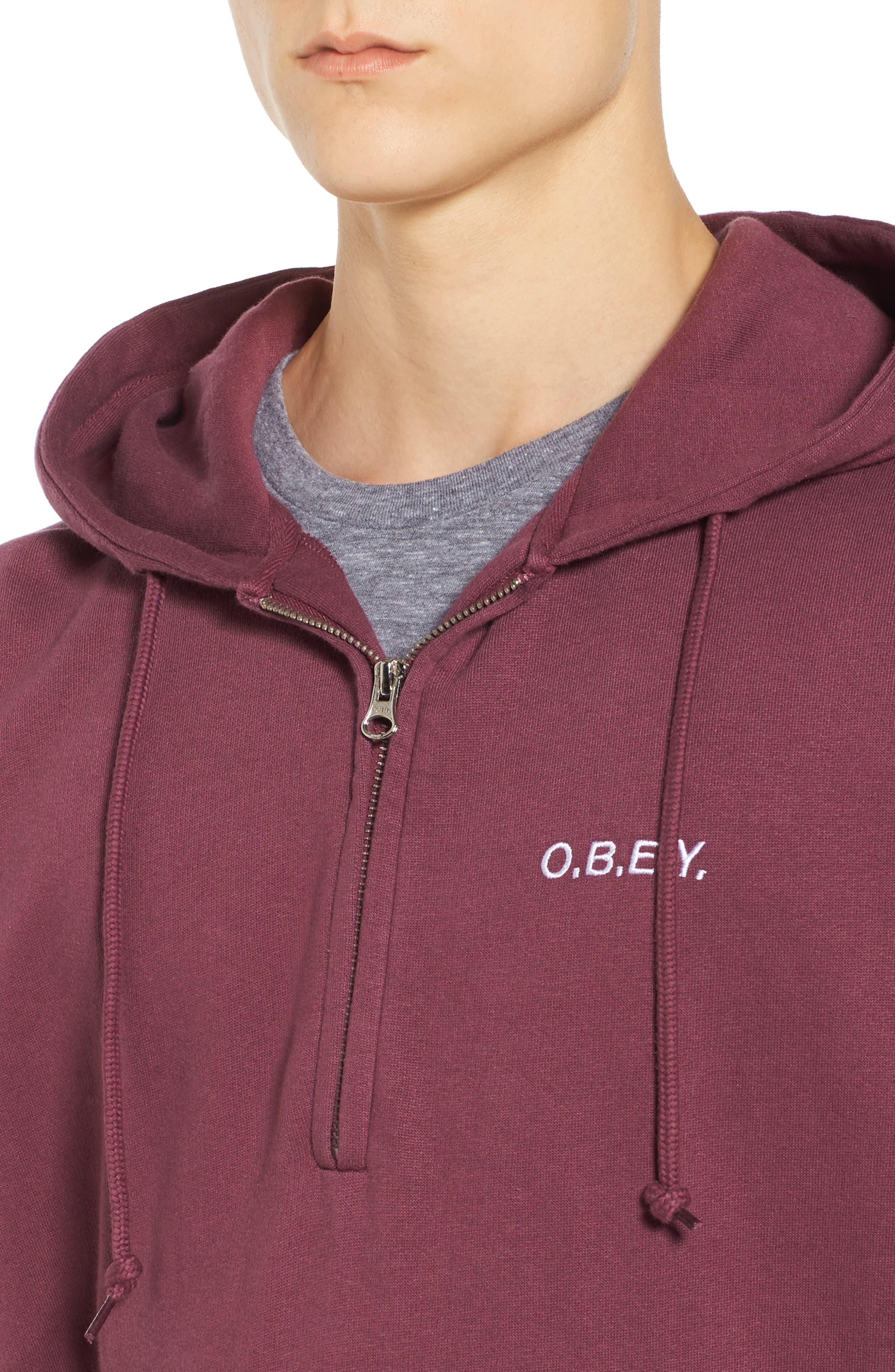 Alternate Image 4  - Obey Ennet Hooded Pullover