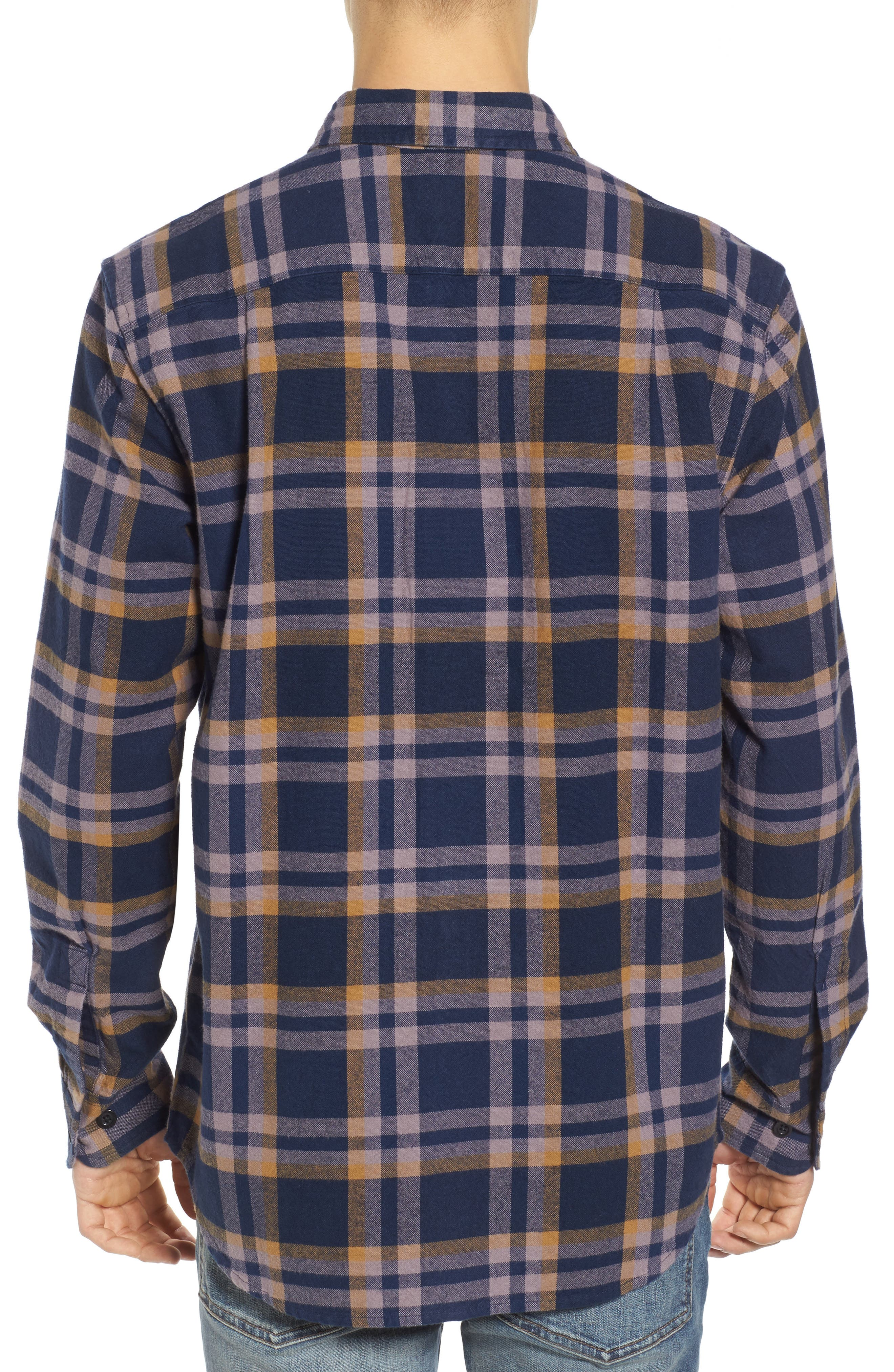 Alternate Image 2  - Obey Plaid Flannel Shirt