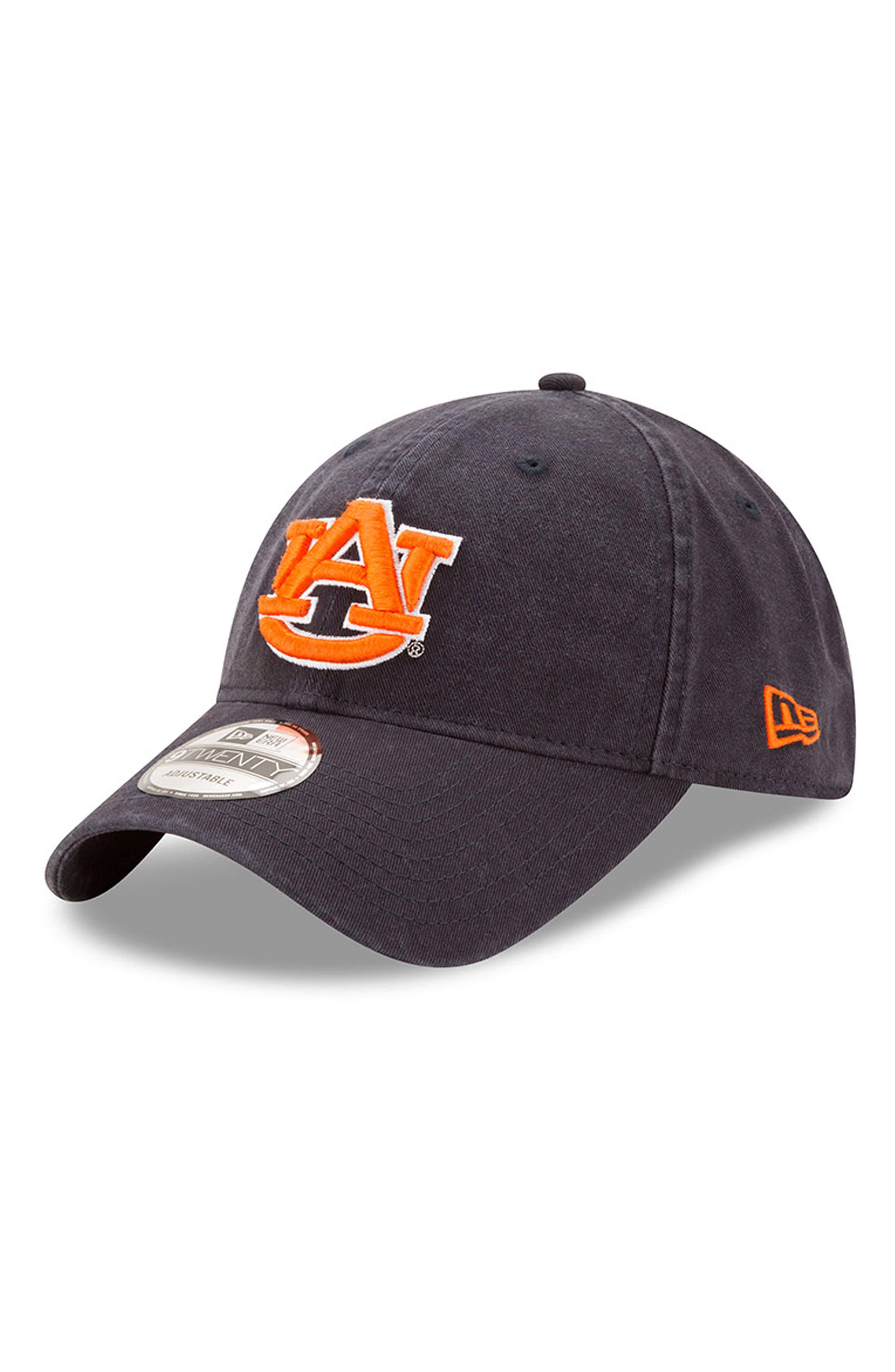 New Era Collegiate Core Classic - Auburn Tigers Baseball Cap,                             Main thumbnail 1, color,                             Auburn Tigers