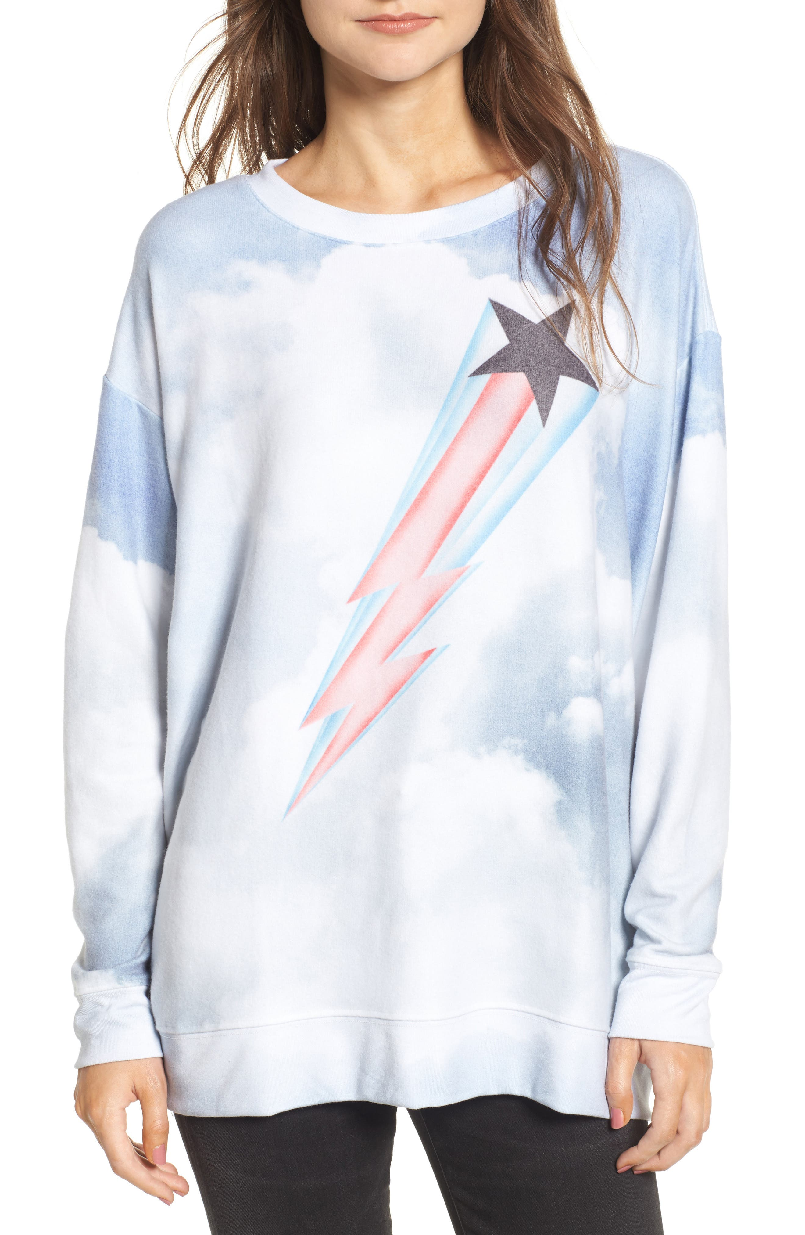 Heavens Roadtrip Sweatshirt,                         Main,                         color, Multi