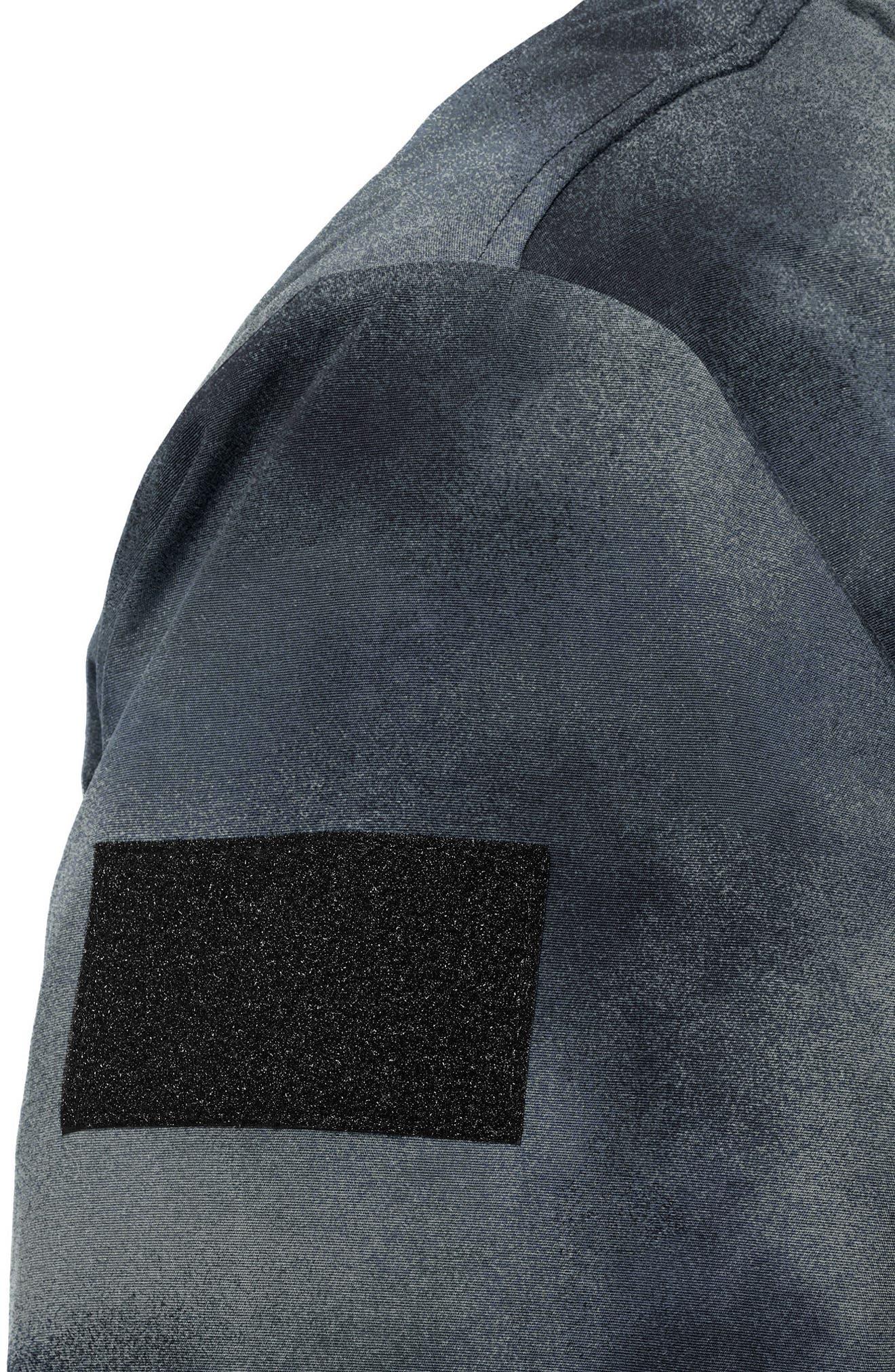 Voyager Jacket,                             Alternate thumbnail 5, color,                             Sandstorm Camo Navy