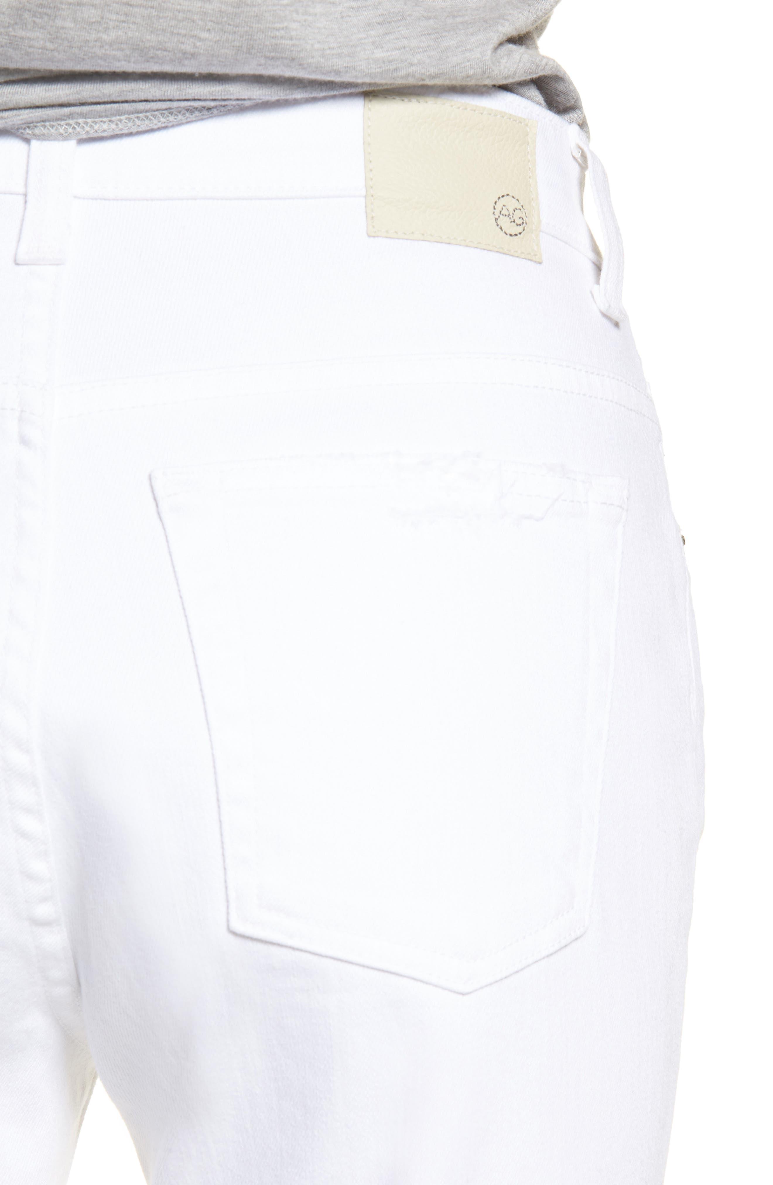 Alternate Image 4  - AG The Rhett High Waist Crop Jeans (2 Years Classic)