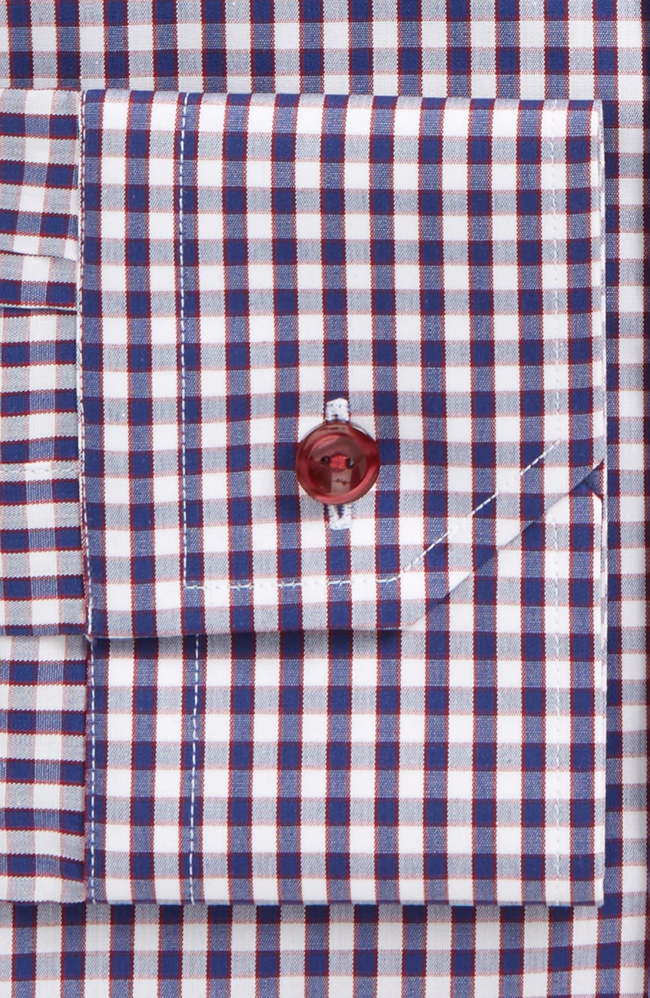 Alternate Image 2  - Eton Contemporary Fit Check Dress Shirt