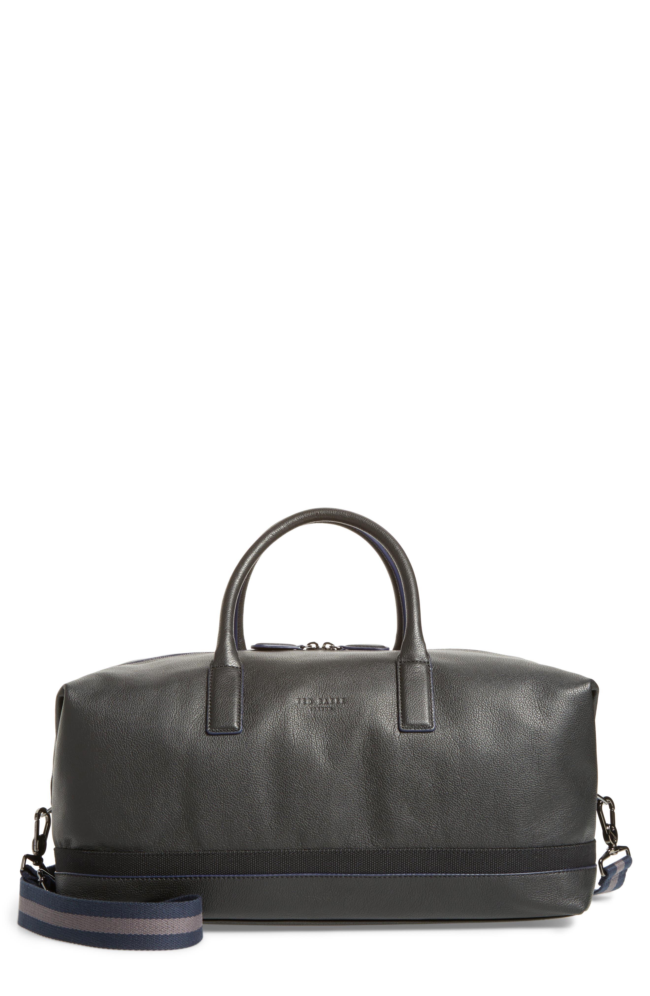 Mylow Duffel Bag,                             Main thumbnail 1, color,                             Black