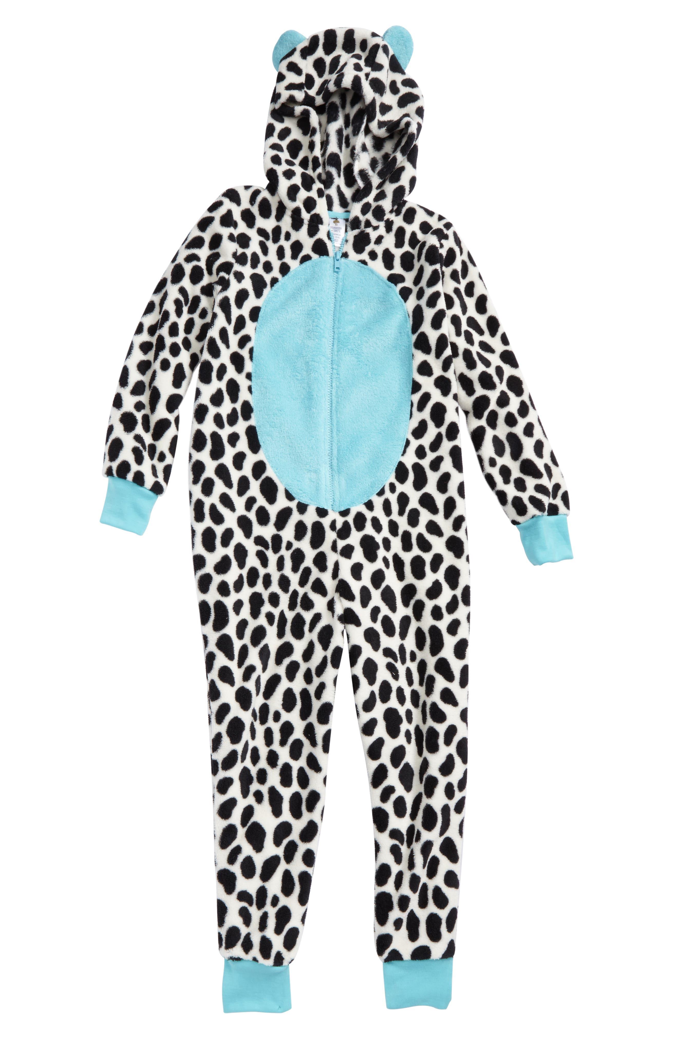 Tucker + Tate One-Piece Animal Pajamas (Little Girls & Big Girls)