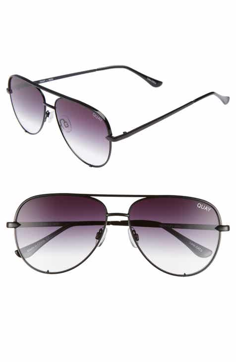 f80e26c46e Quay Australia x Desi Perkins High Key Mini 57mm Aviator Sunglasses