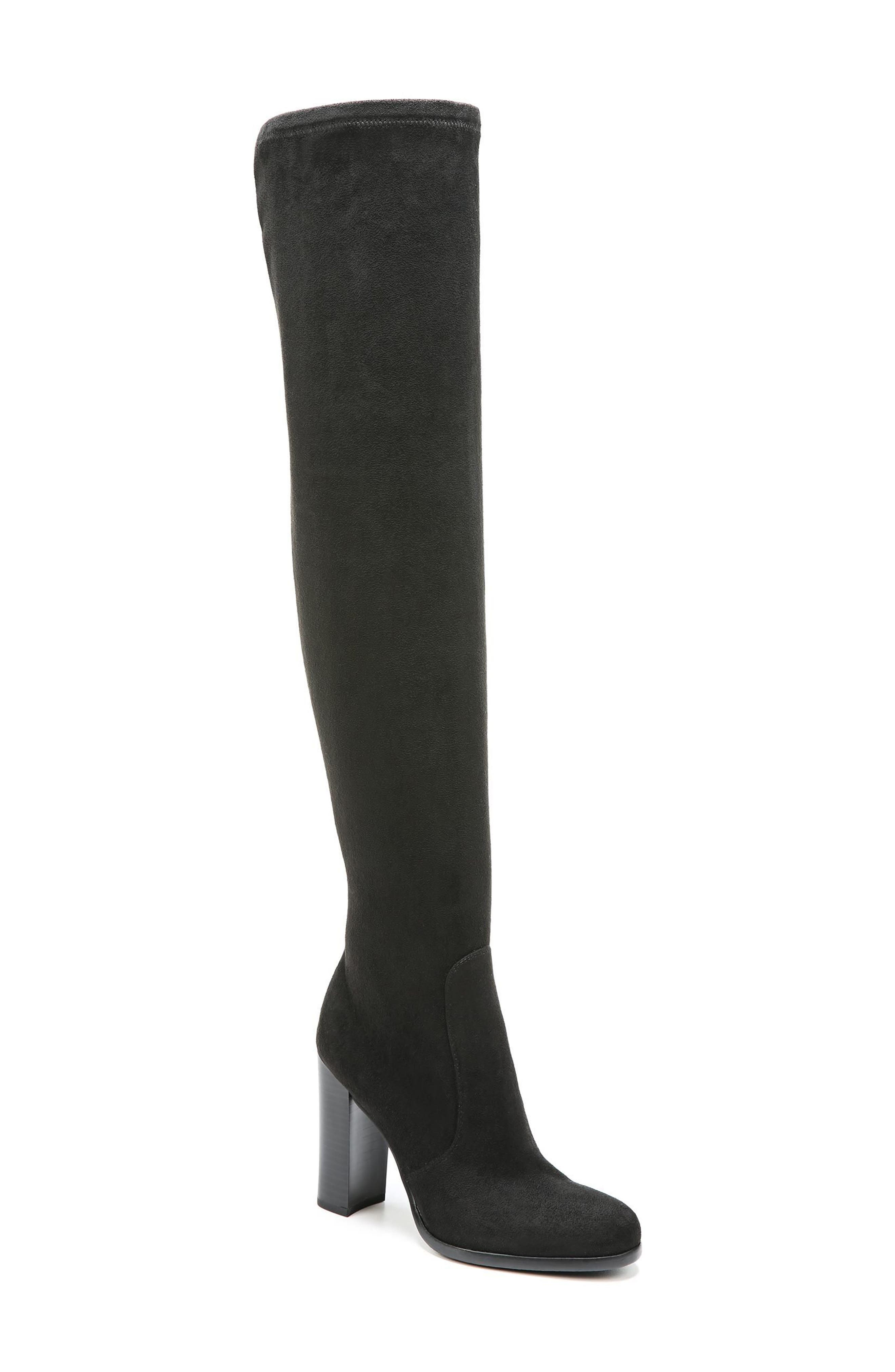 Vena 2 Over the Knee Boot,                             Main thumbnail 1, color,                             Black