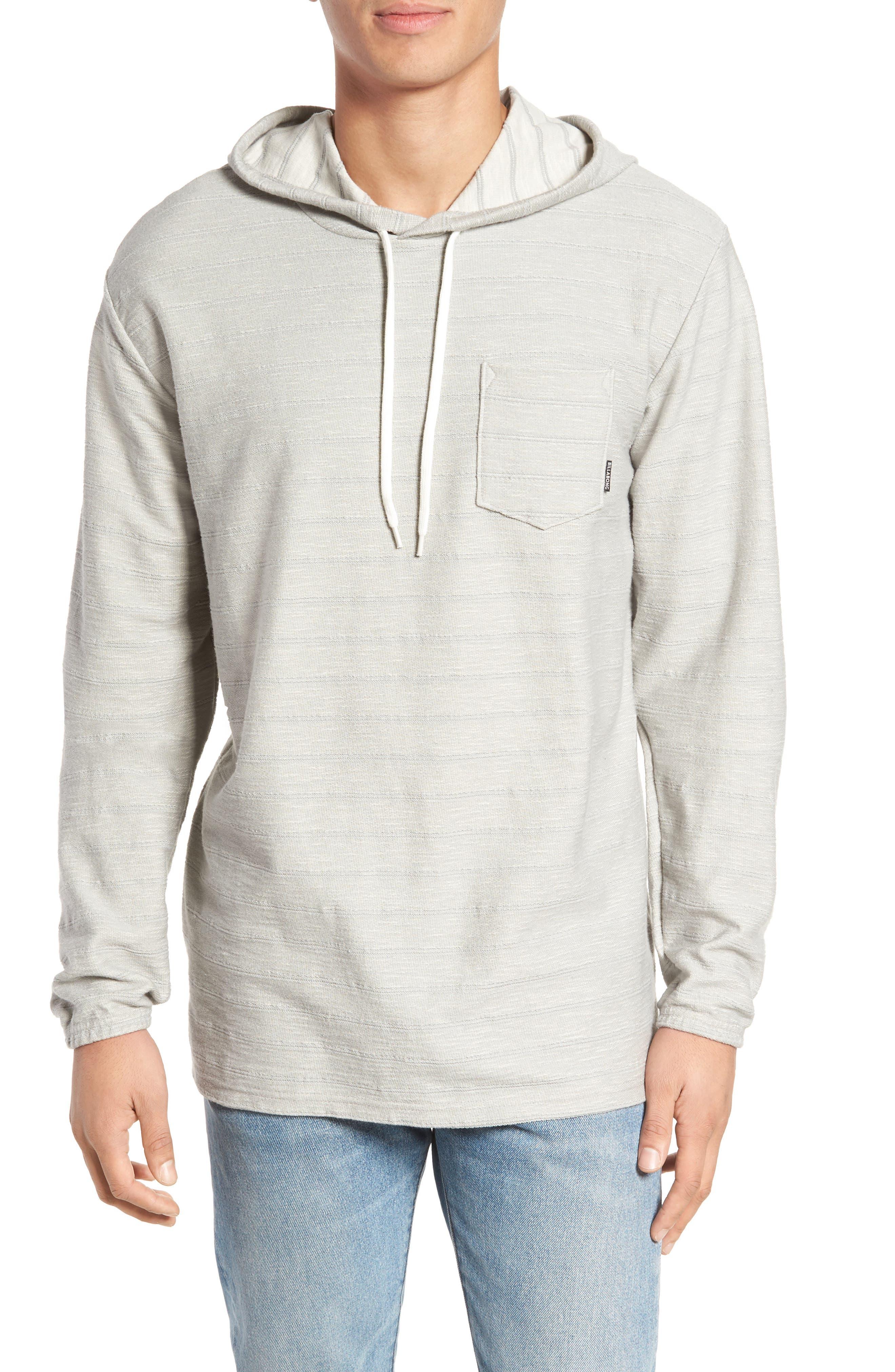 Flecker Hoodie,                         Main,                         color, Grey